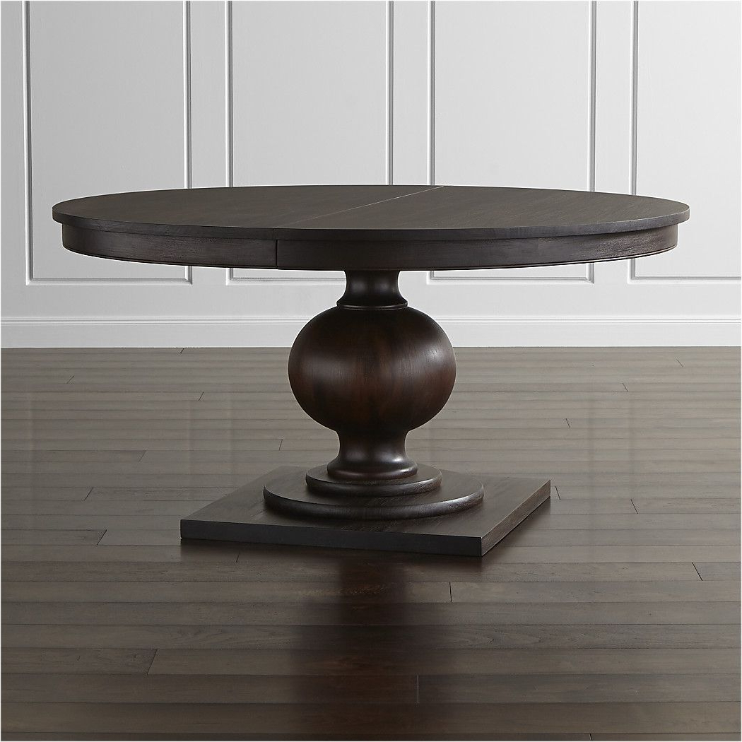 """Rae Round Pedestal Dining Tables inside Newest Shop Winnetka 60"""" Round Extendable Dining Table. Designer"""