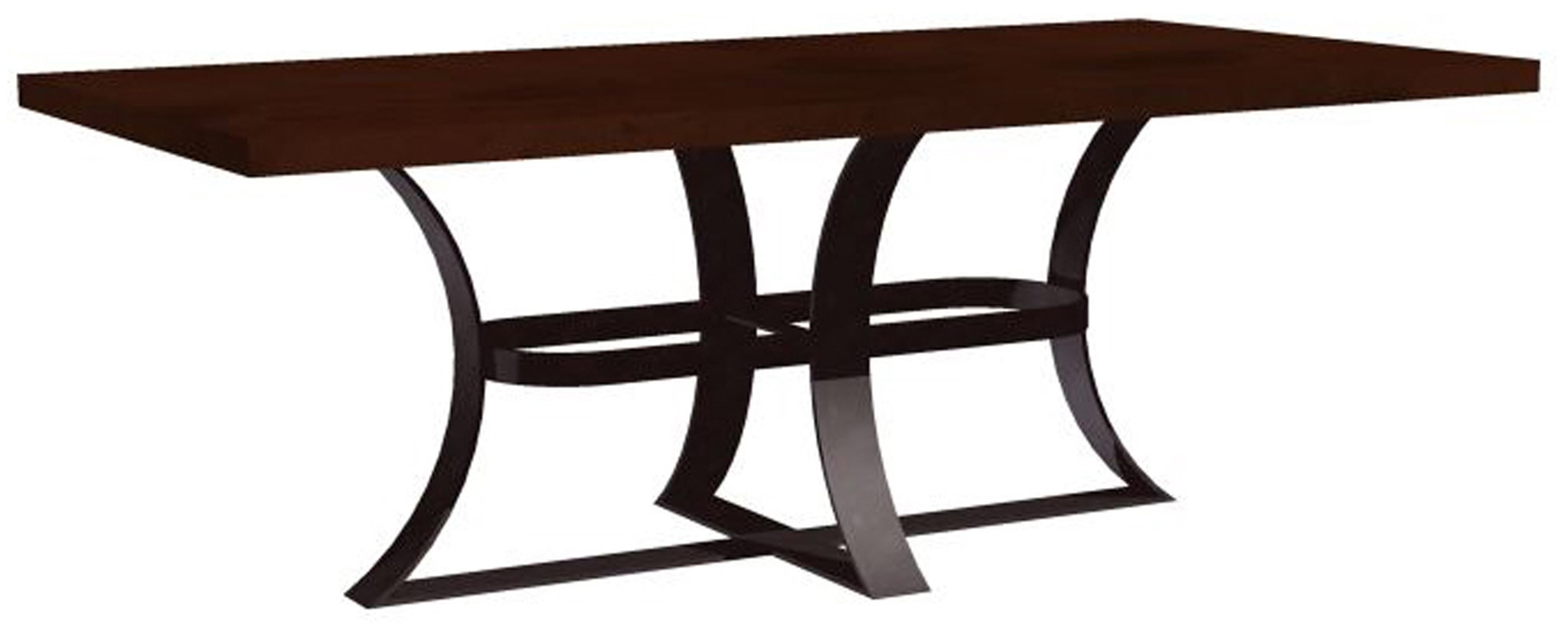 Recent Avery Dining Table With Rectangular Hammered Dark Brown Copper Top In Avery Rectangular Dining Tables (View 14 of 25)