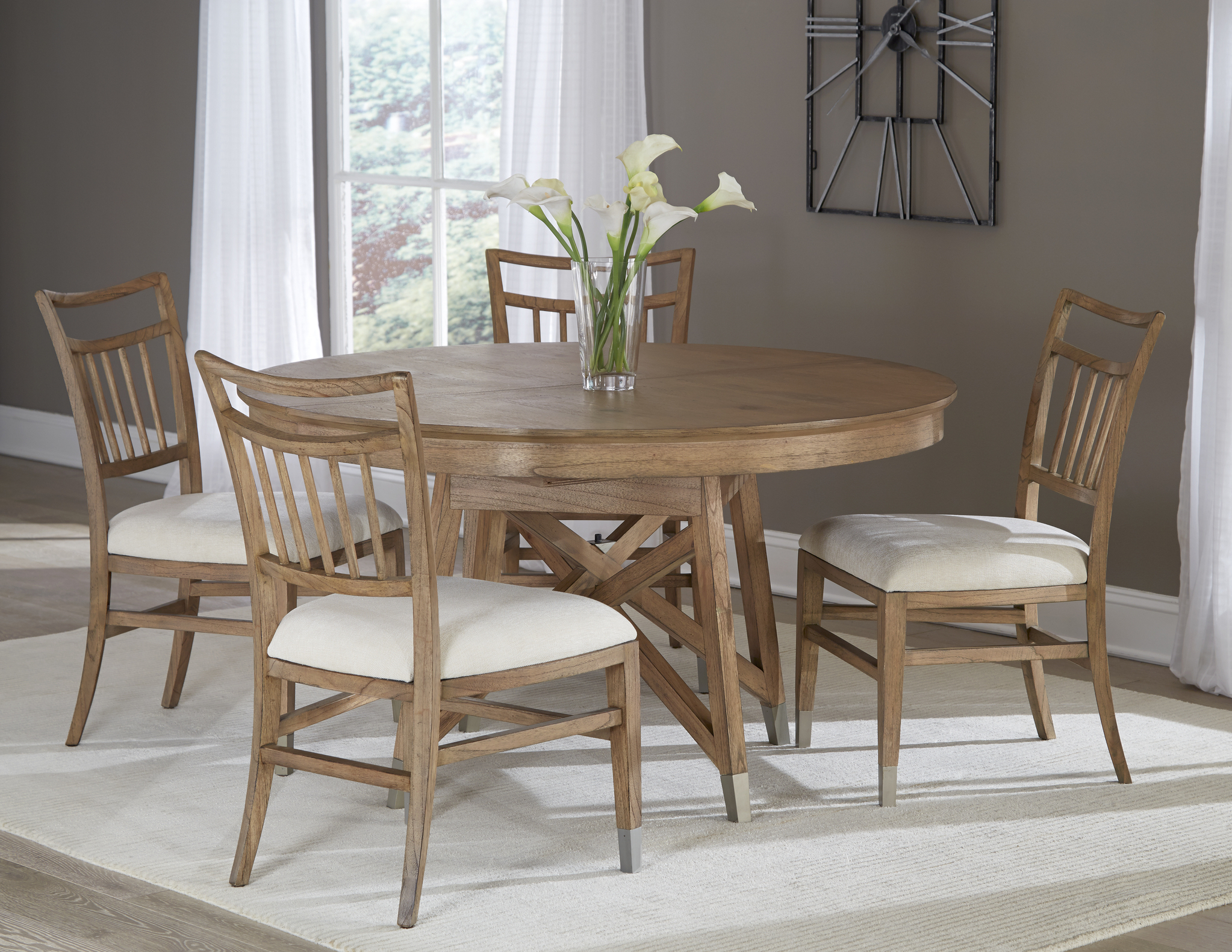 Recent Avery Round Dining Tables pertaining to The Avery Park Round Table Dining Room Collection -