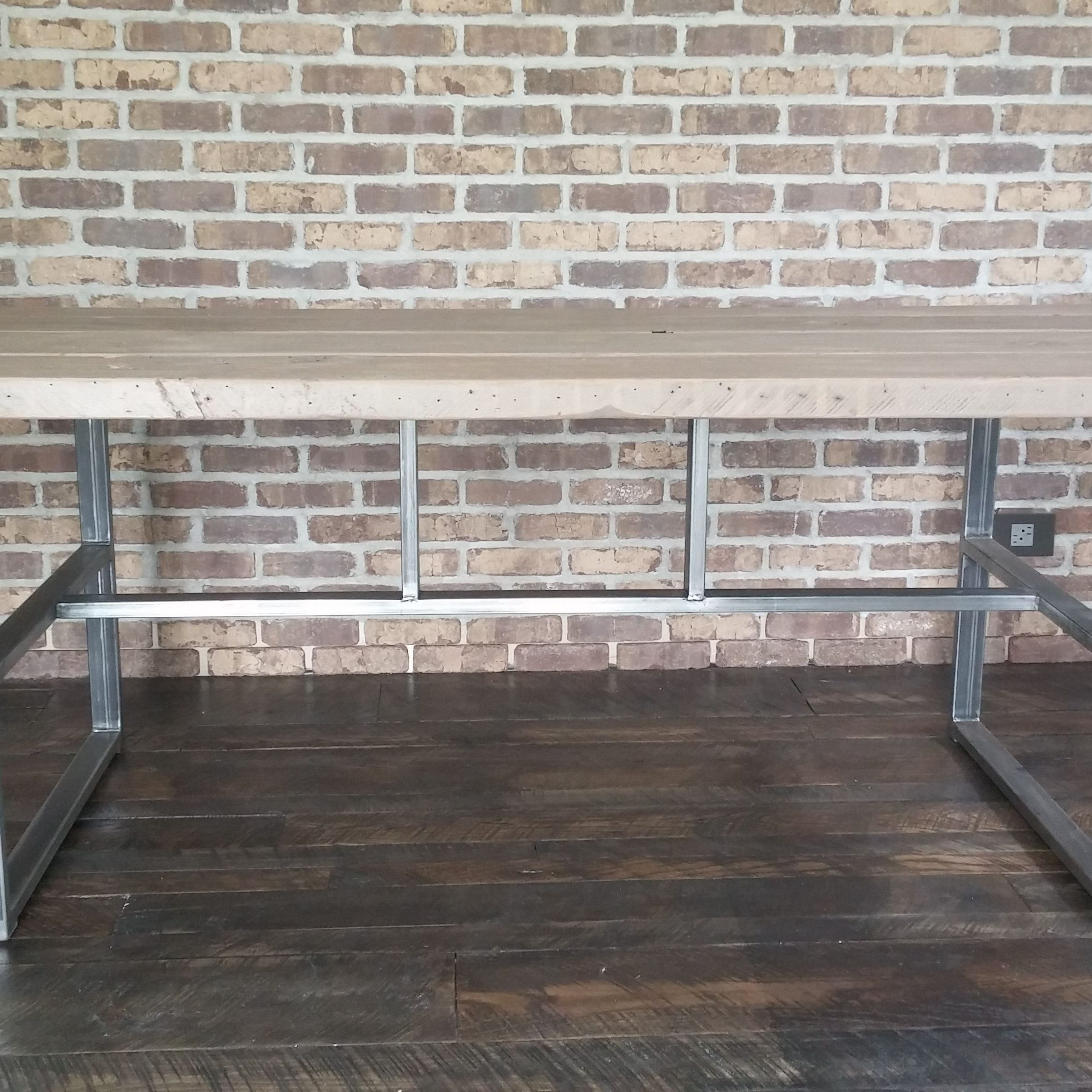 Recent Hand Made Industrial Reclaimed Dining Table, Griffin Table with Griffin Reclaimed Wood Dining Tables