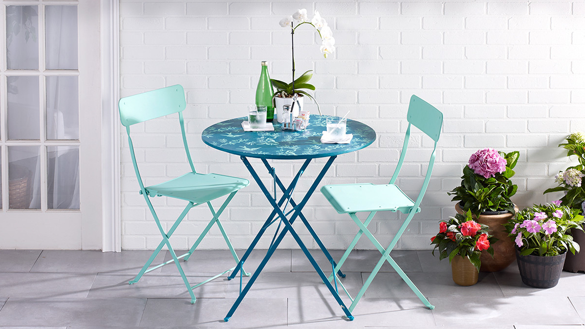 """Recent The Best Sales: Rae Marble Bistro Table, Antique Bronze, 32"""" D in Rae Round Marble Bistro Tables"""