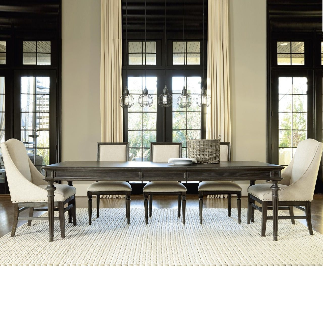 Reed Extending Dining Tables for Preferred French Oak Tribeca Turned Leg Extending Dining Table
