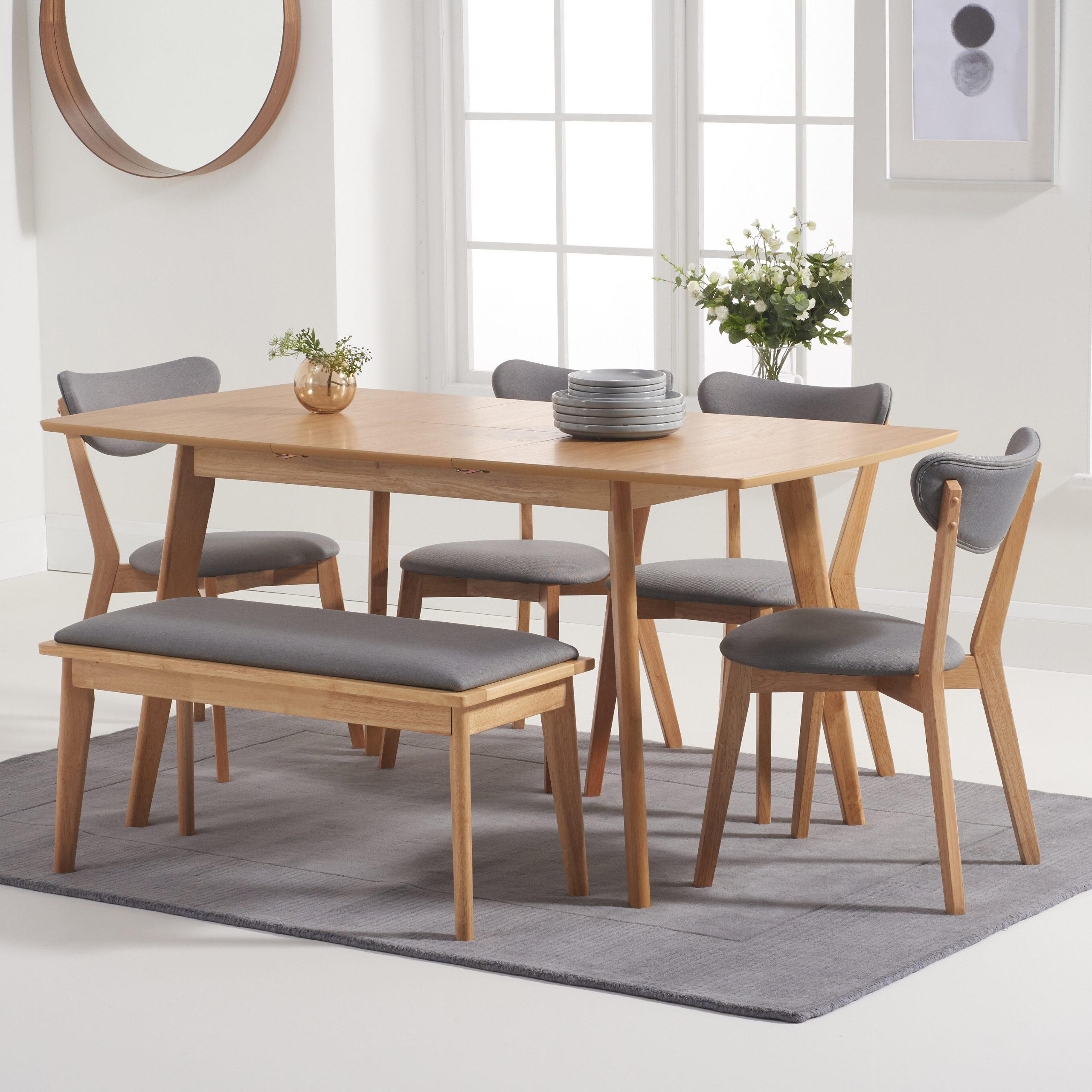 Reed Extending Dining Tables intended for Famous Ideas About Extending Dining Bench, - Howellmagic Dining