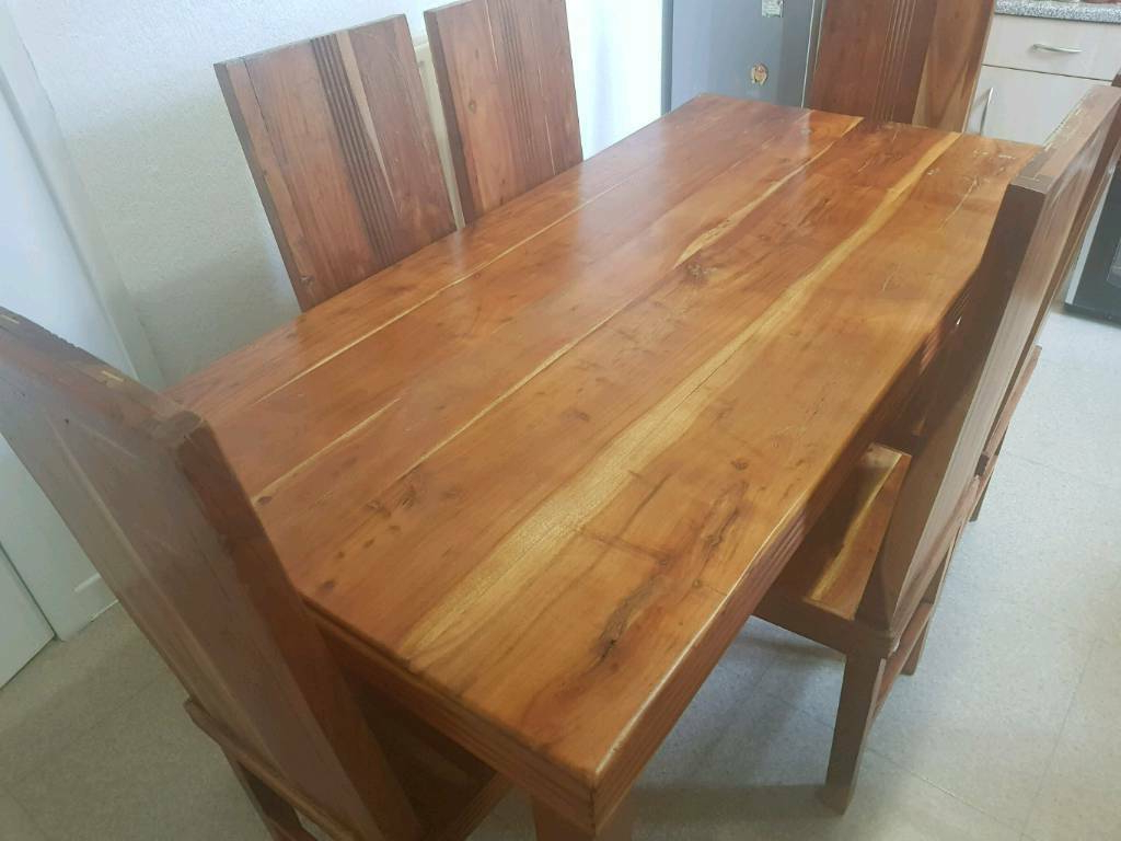 Reed Extending Dining Tables with Most Recently Released Reed Handmade Oak Dining Table And 6 Chairs