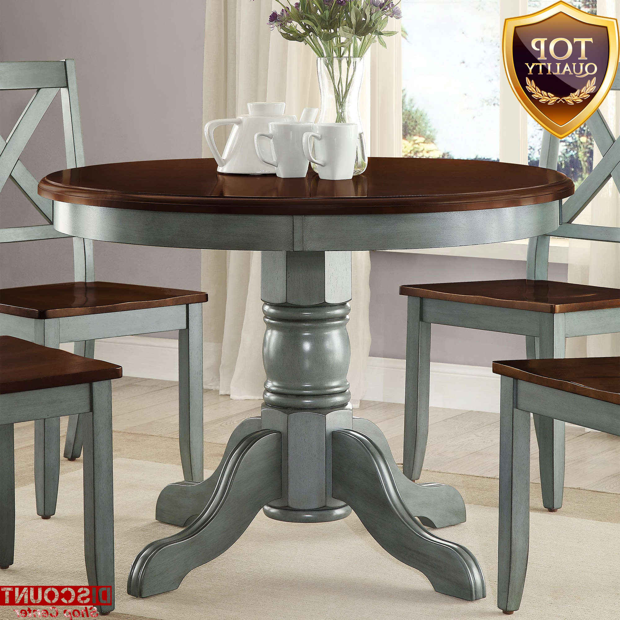 Remarkable Expandable Round Dining Table Spin Room Furniture intended for Most Recently Released Modern Farmhouse Extending Dining Tables
