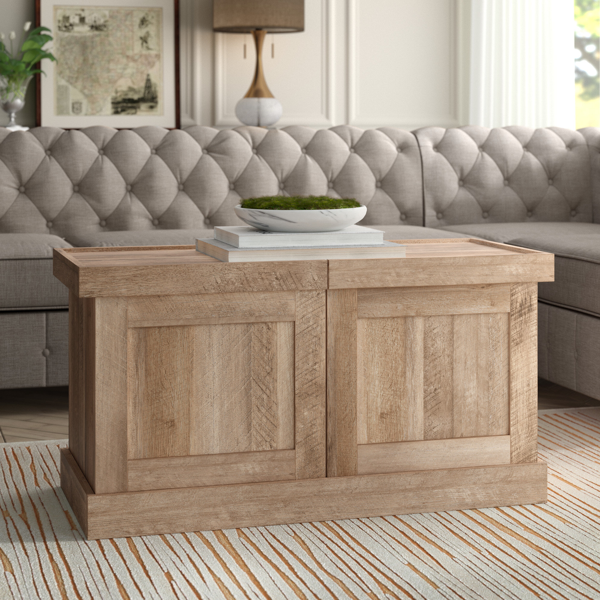 Ringgold Extendable Coffee Table intended for Most Popular Menlo Reclaimed Wood Extending Dining Tables