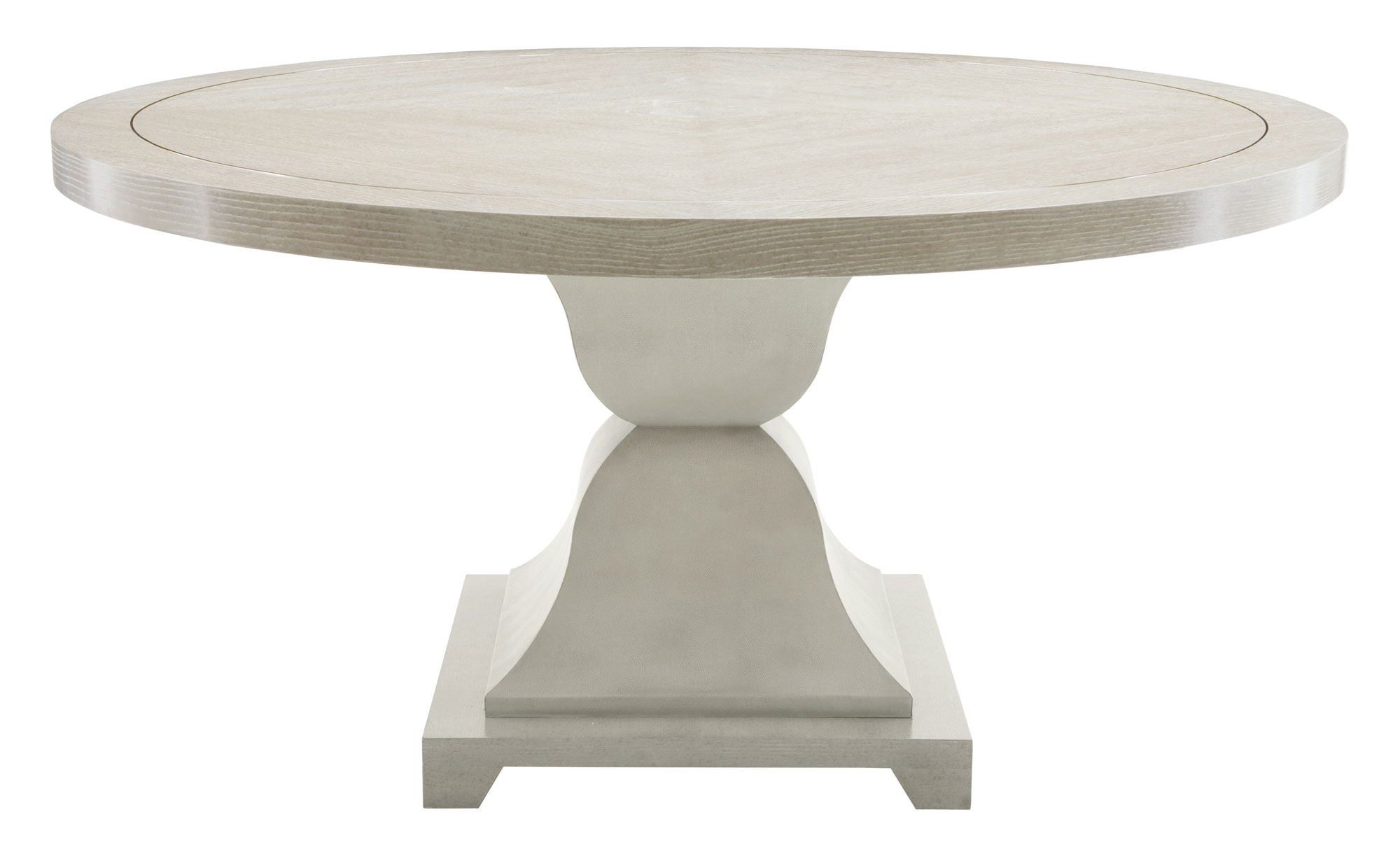 Round Dining Table Bernhardt Dining Room Table 6 Chairs intended for Well known Dawson Pedestal Dining Tables