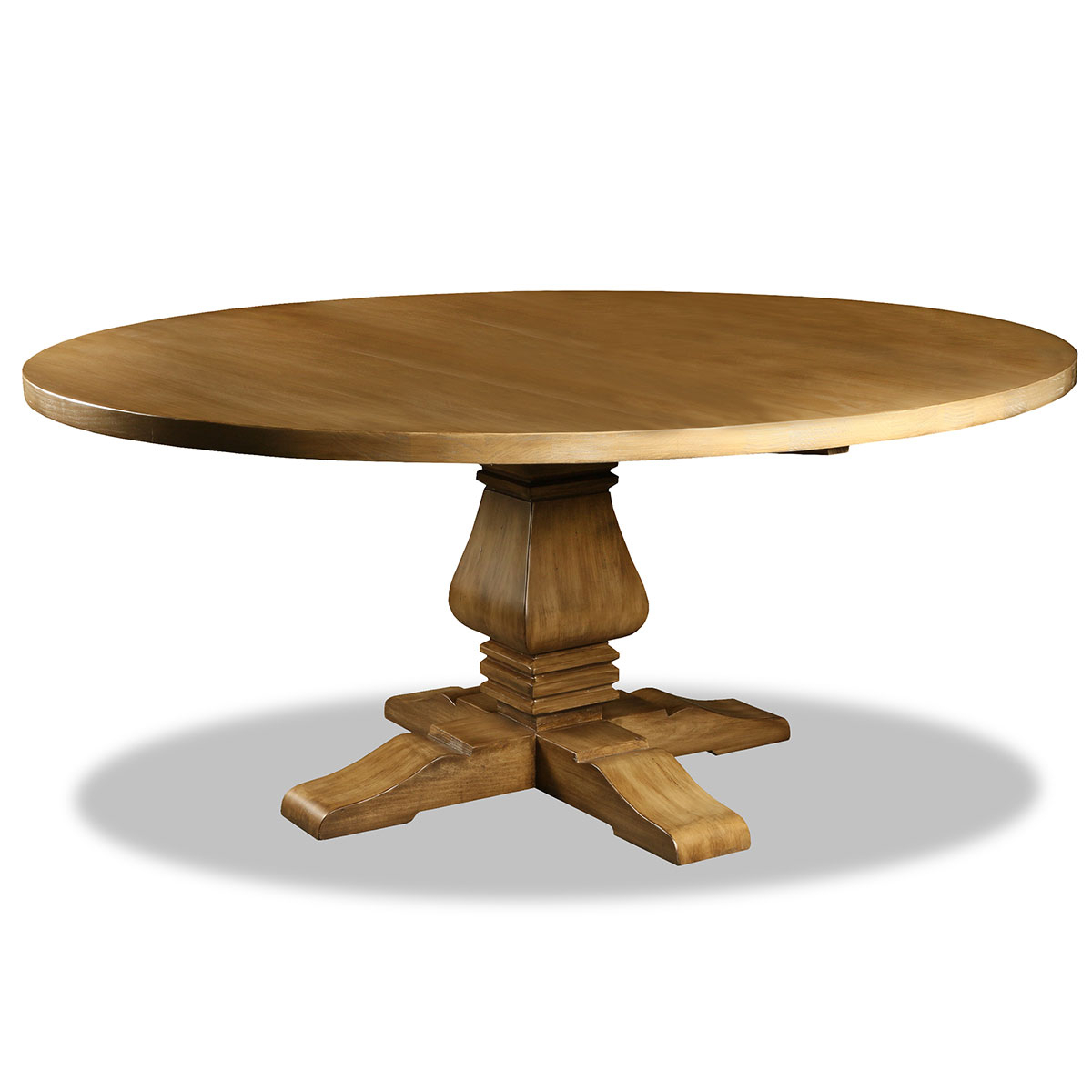 Salvatore Reclaimed Wood Round Dining Table For Most Current Seadrift Toscana Dining Tables (View 23 of 25)