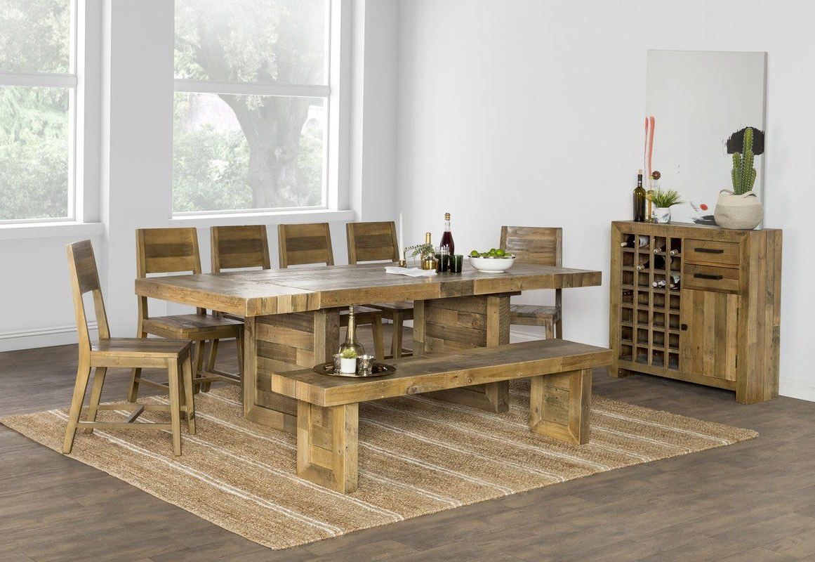 Solid Wood Dining Regarding Thalia Dining Tables (View 22 of 25)