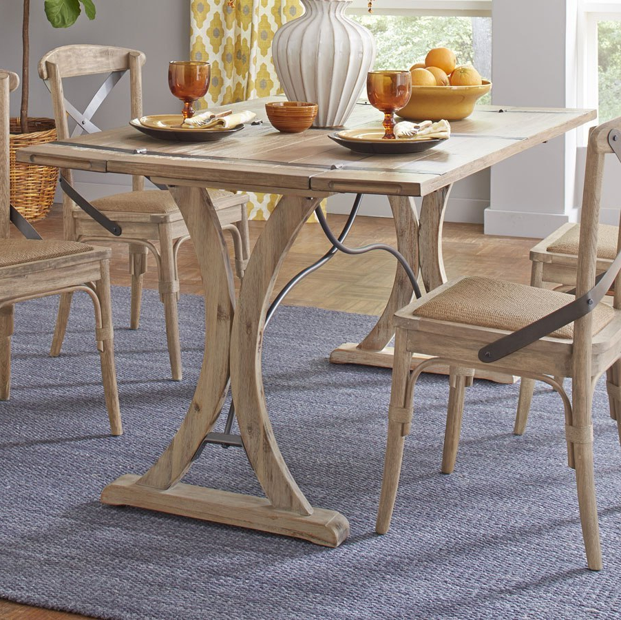 Sonoma Folding Top Dining Table Intended For 2020 Alder Pub Tables (View 18 of 25)