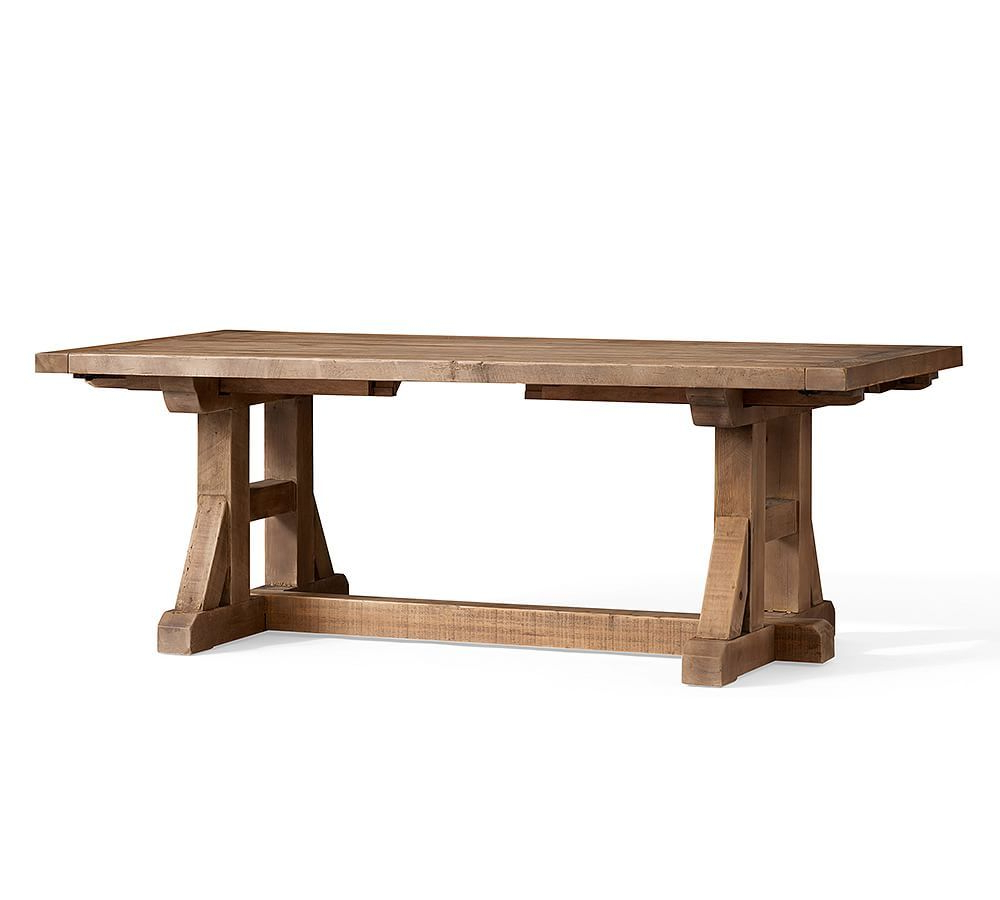 Featured Photo of Stafford Reclaimed Extending Dining Tables