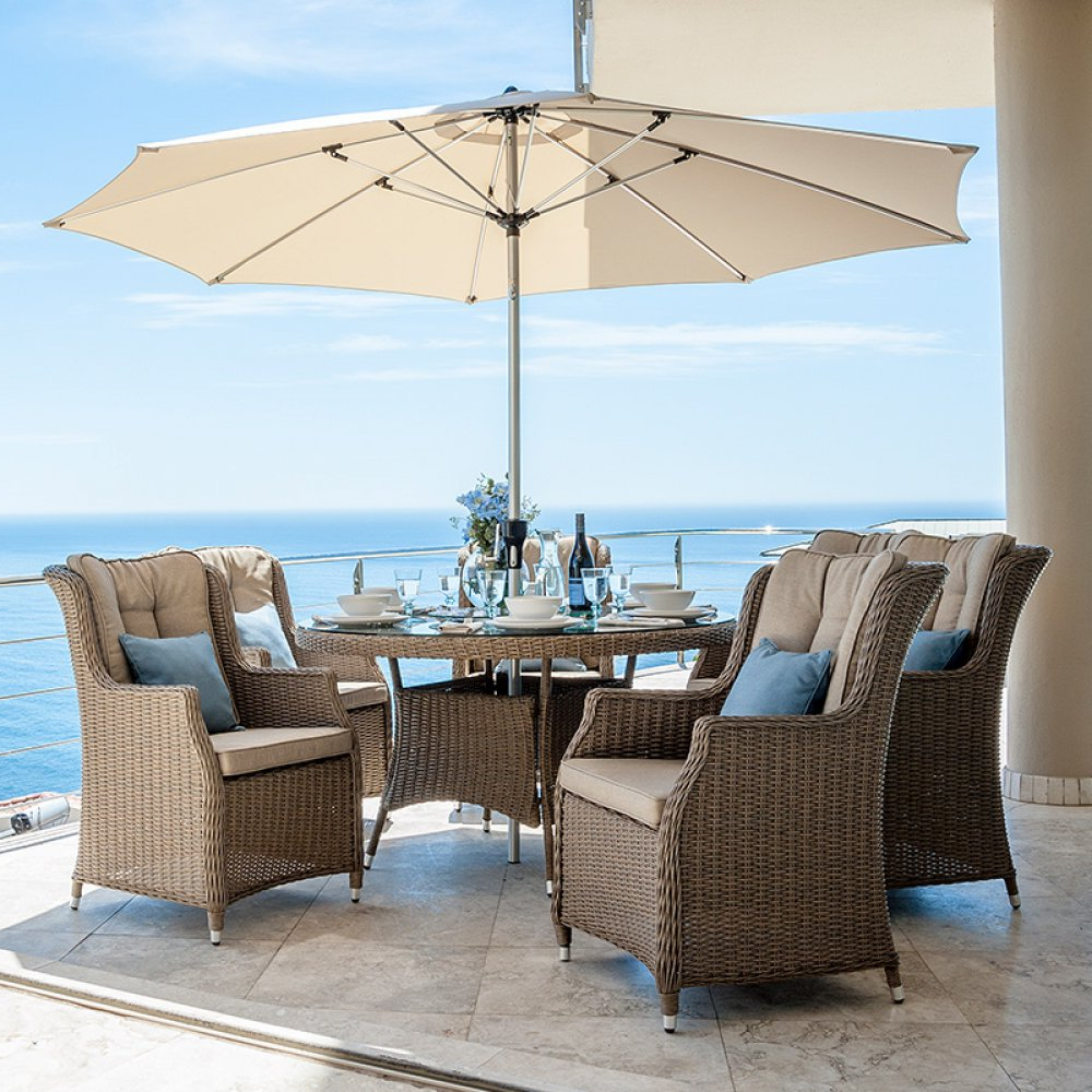 Thalia Dining Tables With Recent Nova – Thalia 6 Seat Rattan Dining Set –  (View 18 of 25)