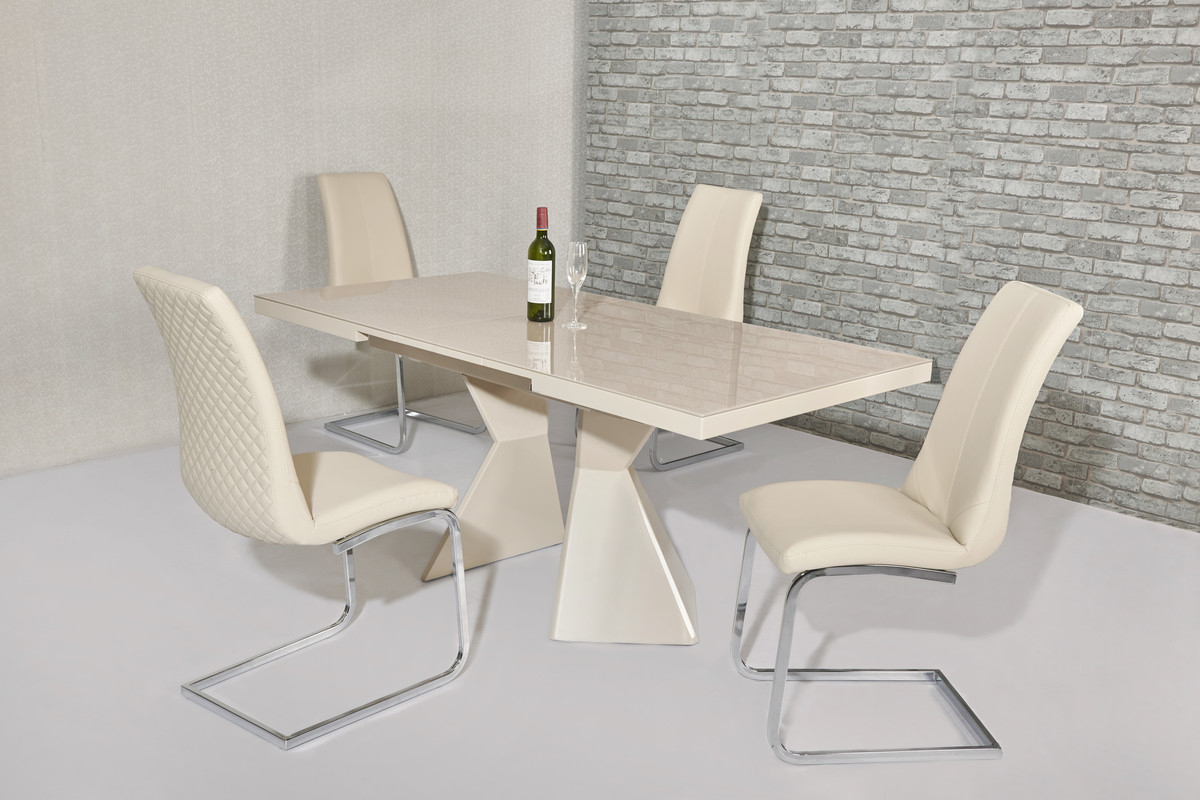 Thalia Dining Tables With Trendy Thalia Extending Dining Table  2 Dimensions – Furniture Mill (View 8 of 25)