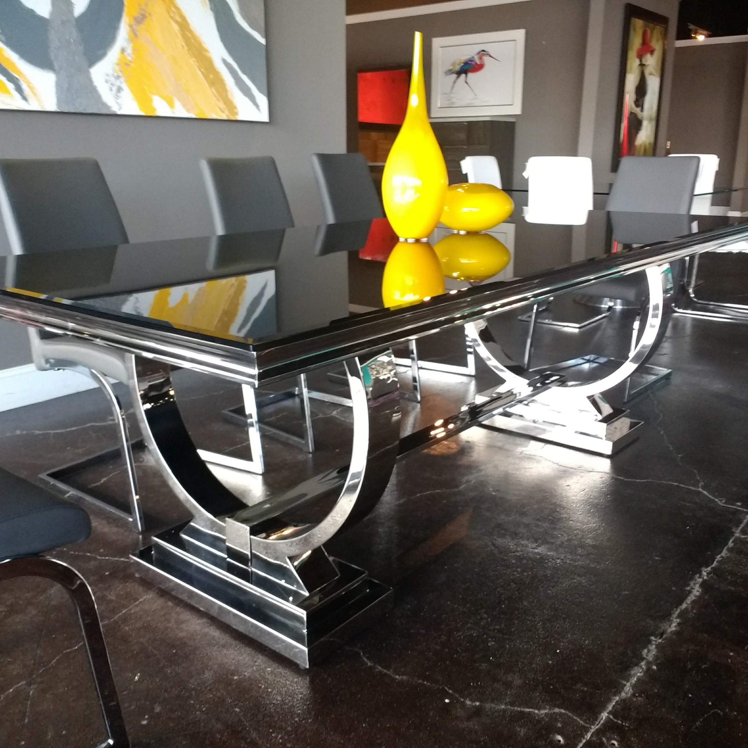 The Large Rectangular Avery Dining Table Has The Ultimate For 2019 Avery Rectangular Dining Tables (View 6 of 25)
