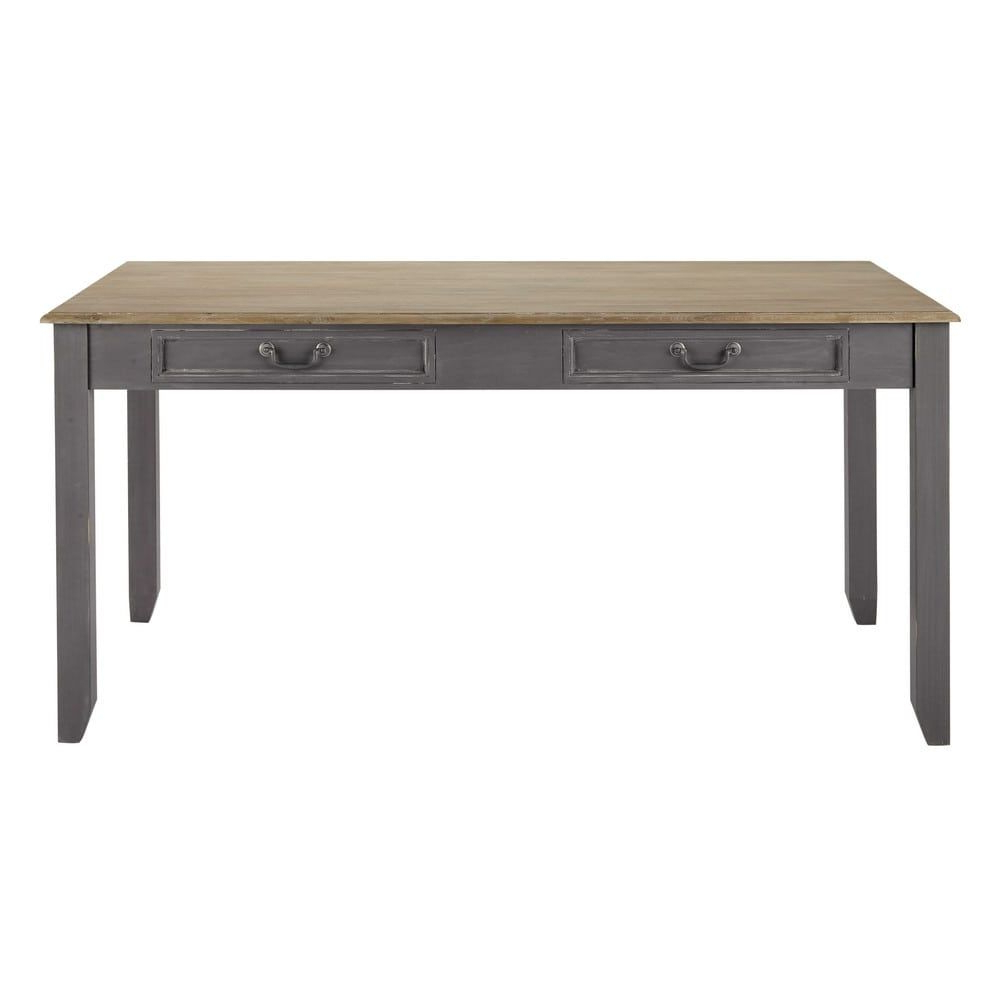 Trendy Faye Extending Dining Tables Within Grey Extendible 6 8 Seater Dining Table W 160/210 Cm (View 4 of 25)