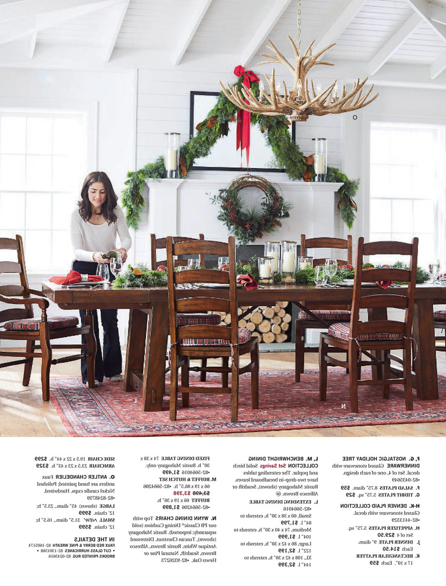 Trendy Seadrift Benchwright Dining Tables In Pottery Barn – Holiday 2017 D3 – Benchwright Hutch, Rustic (View 12 of 25)