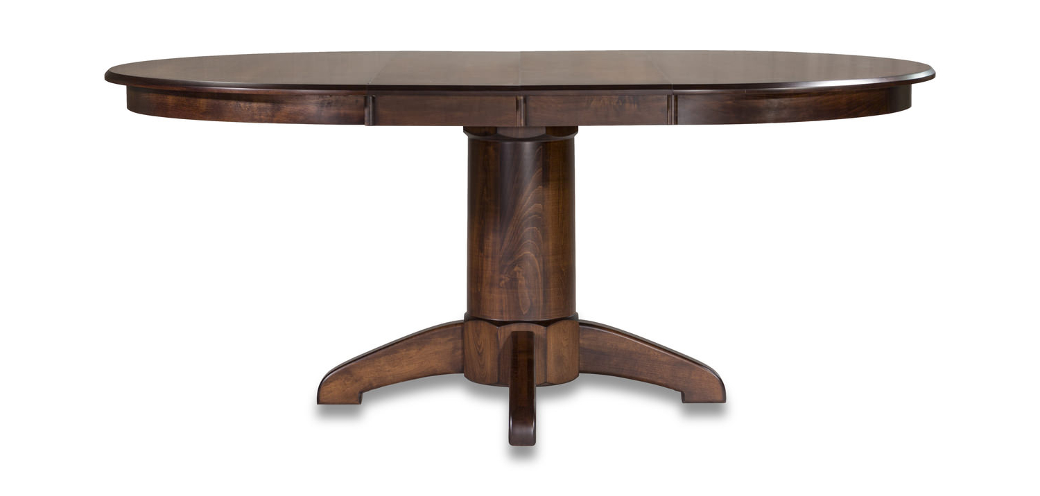 Tucson Amish Maple Table Within Widely Used Johnson Round Pedestal Dining Tables (View 21 of 25)