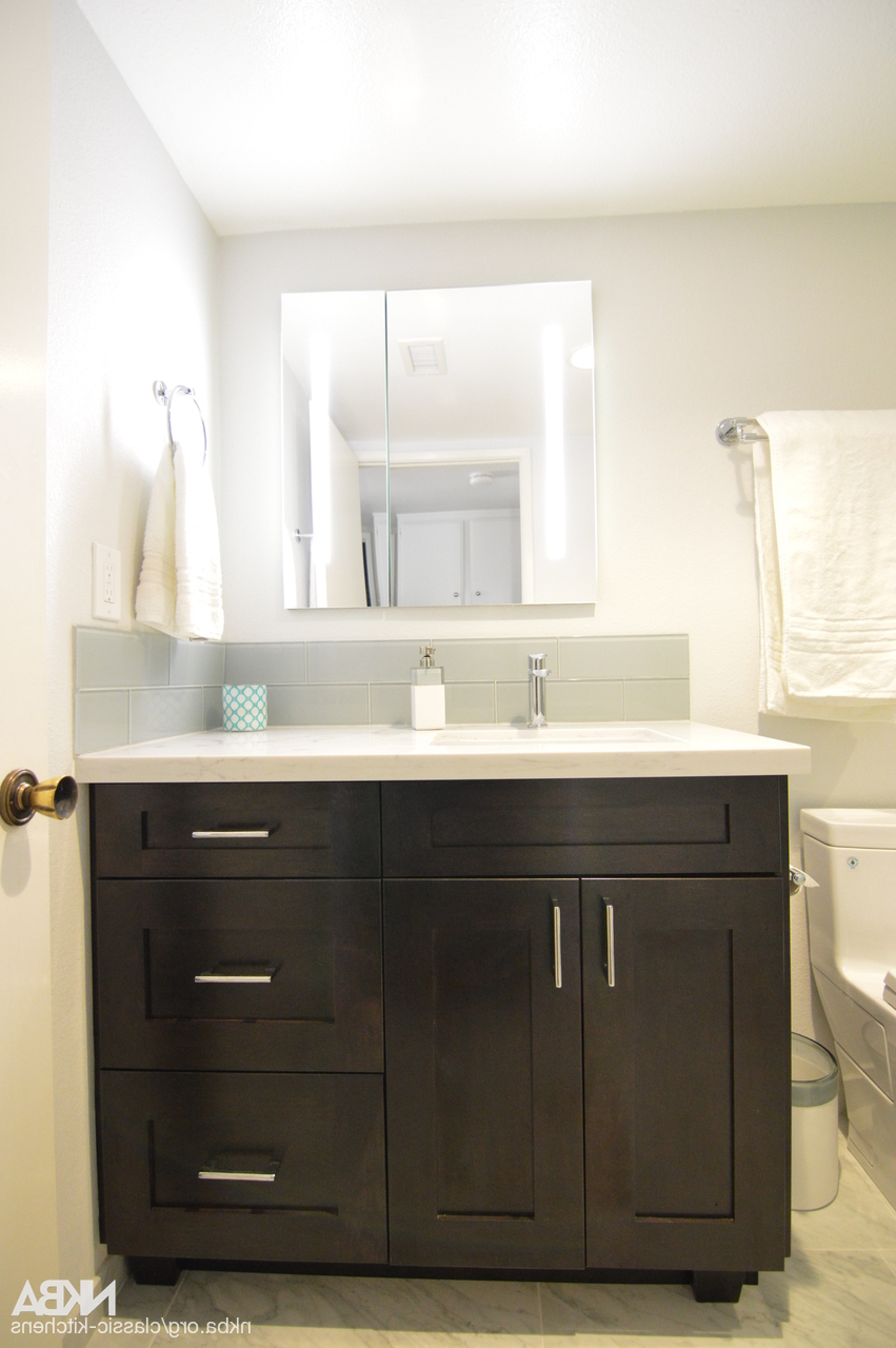 Upland, Ca - Guest Bathroom Remodel - Nkba with regard to 2019 Upland Marble Kitchen Islands
