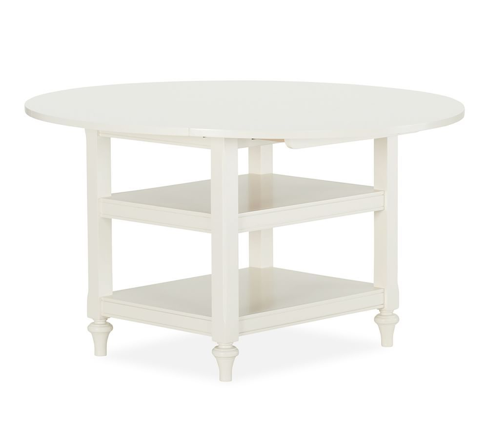 Featured Photo of Antique White Shayne Drop Leaf Kitchen Tables