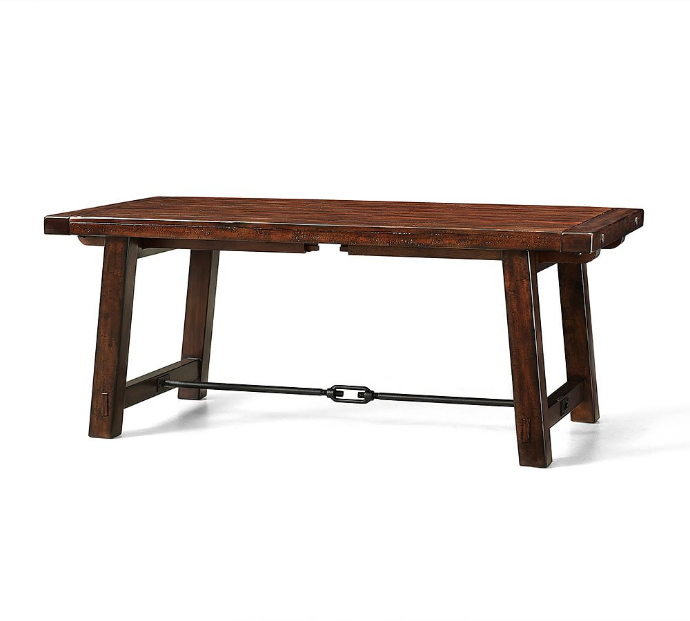 """Well Known Benchwright Extending Dining Table, Seadrift, 60"""" – 84"""" L In Within Seadrift Benchwright Extending Dining Tables (View 12 of 25)"""