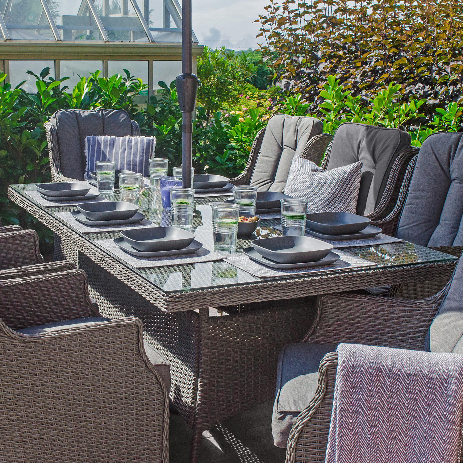 Well Known Thalia Dining Tables Intended For Nova – Heritage Thalia 8 Seat Rattan Dining Set – 2M X 1M (View 20 of 25)