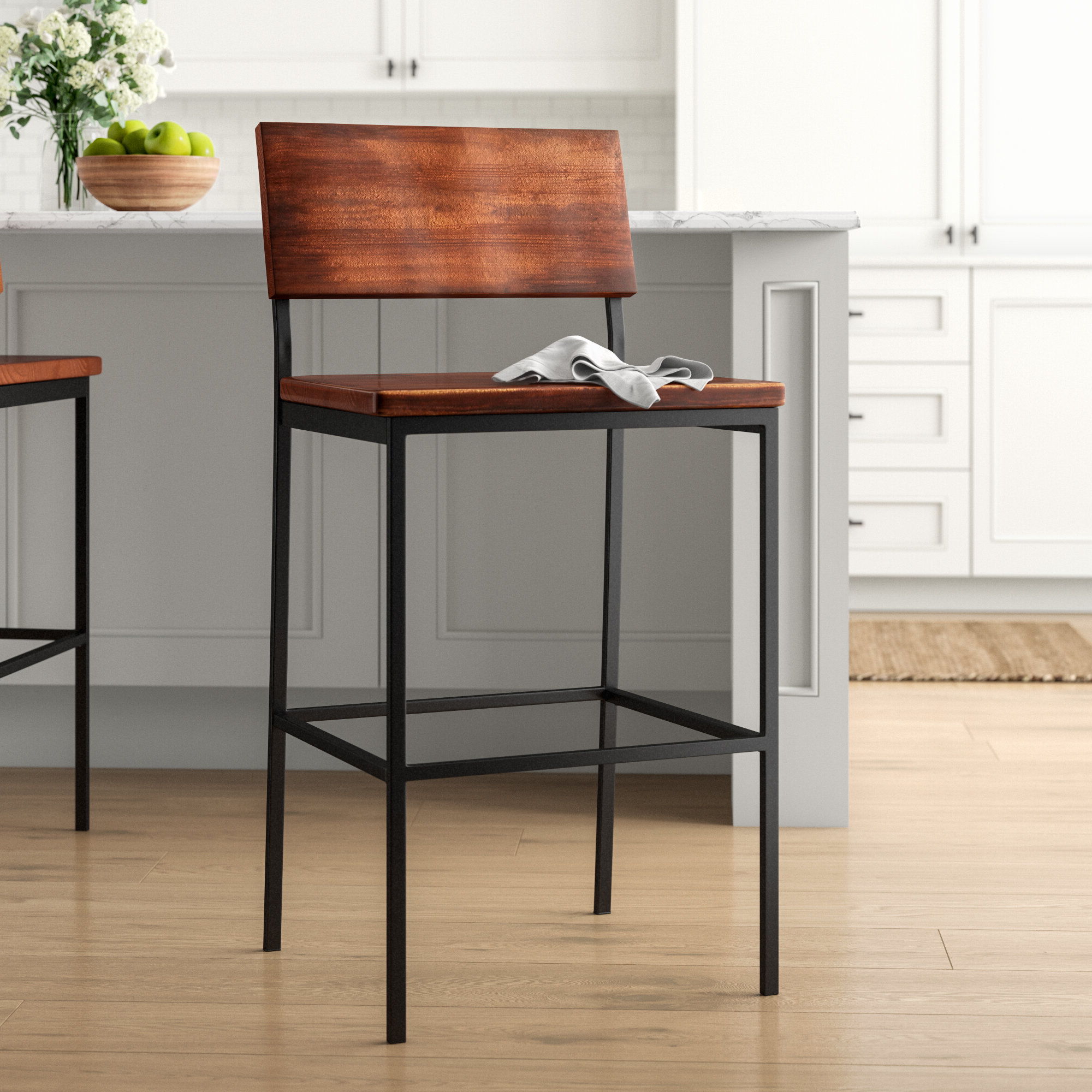 """Well Liked Hart Reclaimed Extending Dining Tables Throughout Hart 30"""" Bar Stool (View 20 of 25)"""