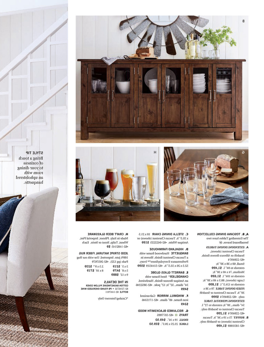 Well Liked Pottery Barn – Winter 2018 D2 – Toscana Extending Dining With Regard To Tuscan Chestnut Toscana Dining Tables (View 17 of 25)