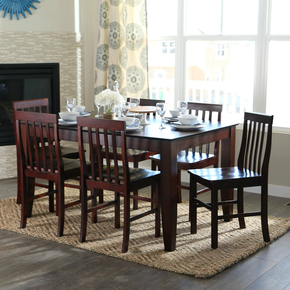 Widely Used Modern Wooden Restaurant Furniture Wholesale Antique Furniture High Quality Modern Wooden Dining Table And Chairs – Buy Wooden Dining Table Set,modern With Shaw Dining Tables, English Brown (View 7 of 25)