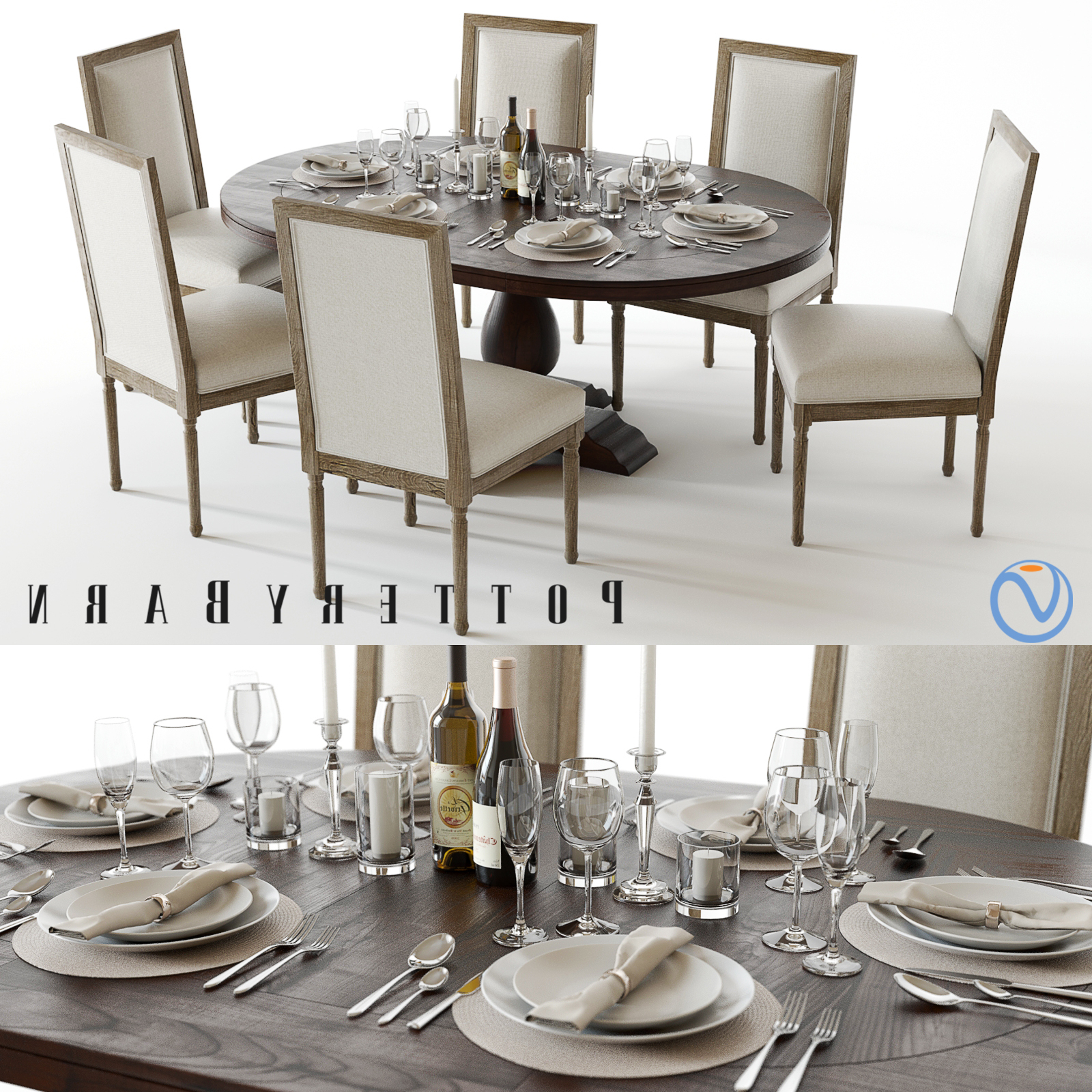Widely Used Pottery Barn Lorraine Pedestal Table Ethan Allen Locations With Regard To Hewn Oak Lorraine Extending Dining Tables (View 13 of 25)