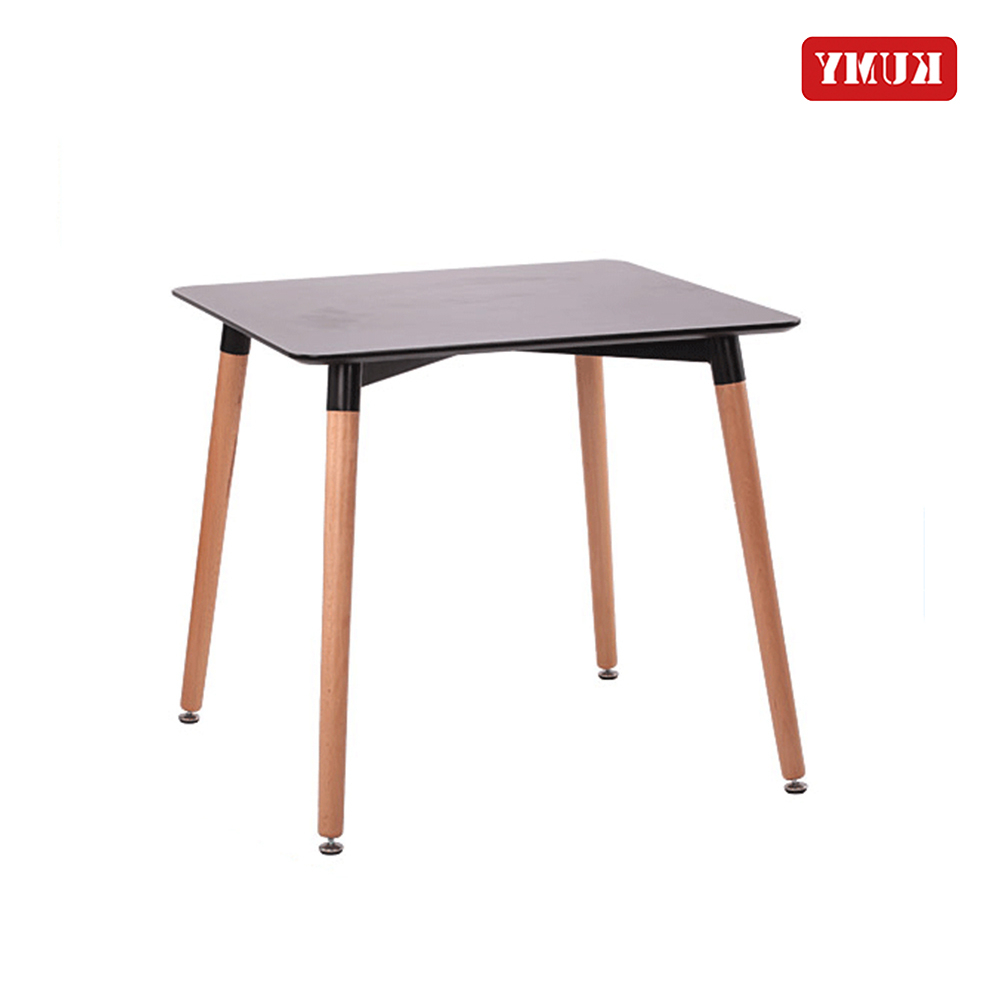 2018 Newest Best Sell Mesa Simple Design 4 Seater Portable Rustic Style  Dining Room Price Small White Square Wooden Dining Table – Buy Modern Table With Regard To 2019 Small Rustic Look Dining Tables (View 25 of 25)