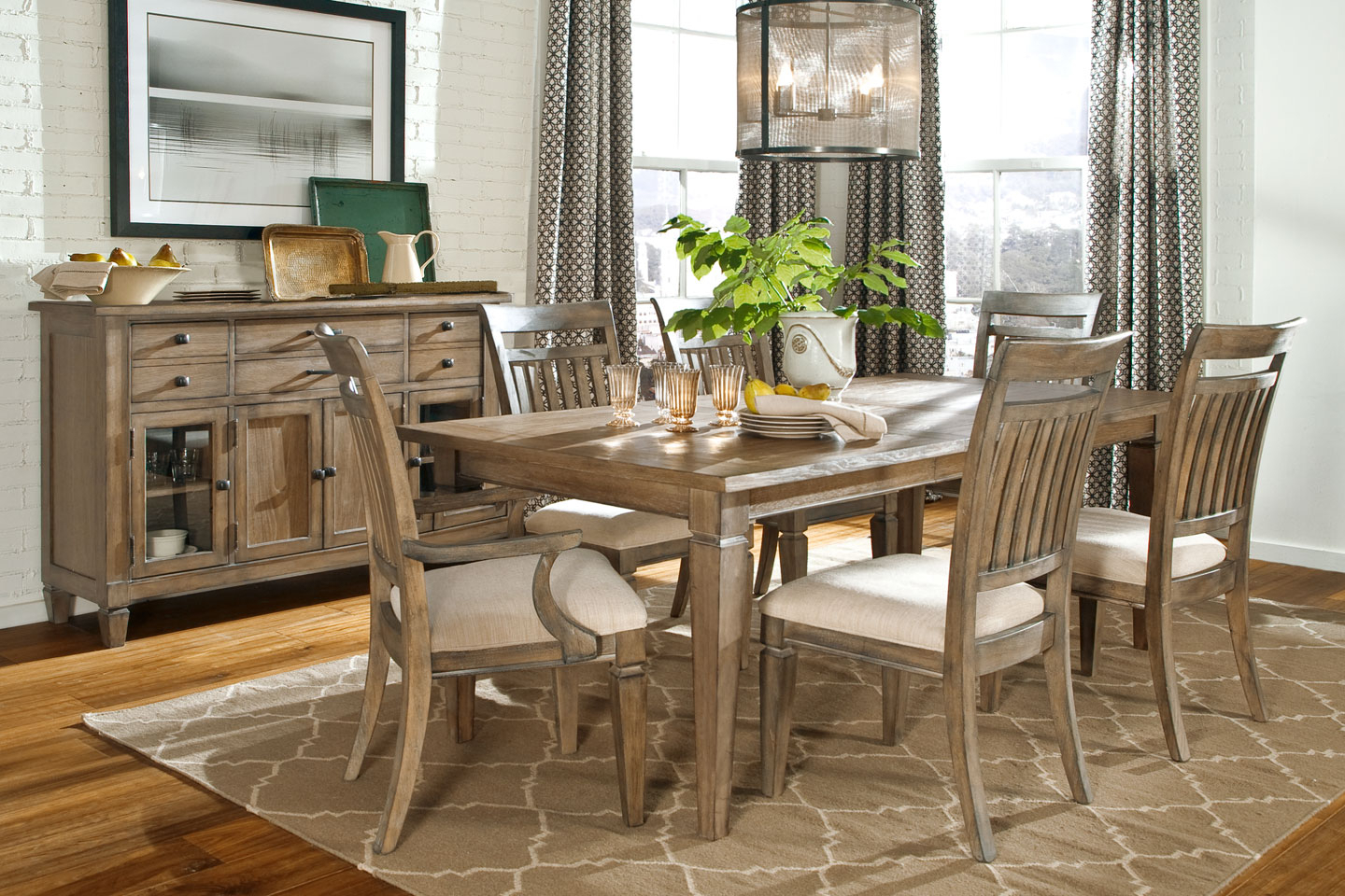 2019 Beautiful Rustic Kitchen Tables To Inspire You — Office Pdx for Large Rustic Look Dining Tables