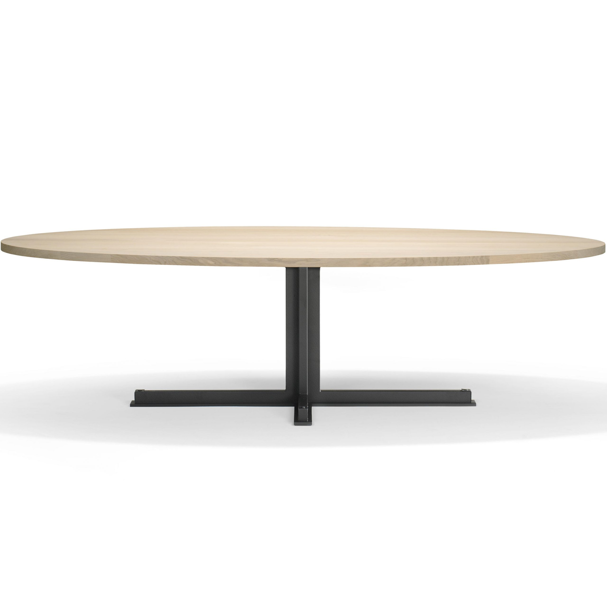 2019 Cross Oval Dining Table (View 22 of 25)