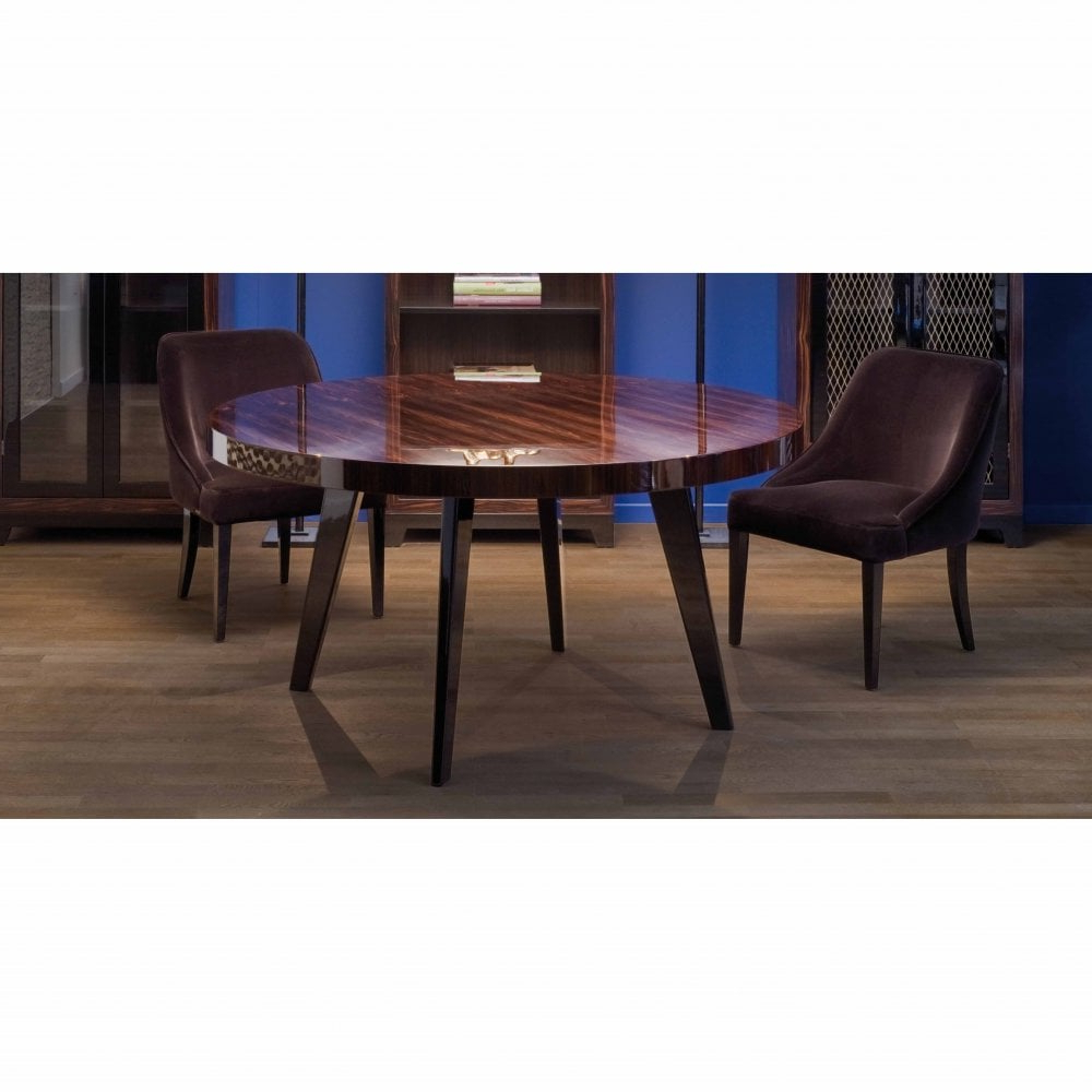 2019 Dom Round Dining Tables within Dom Edizioni Harry Round Dining Table