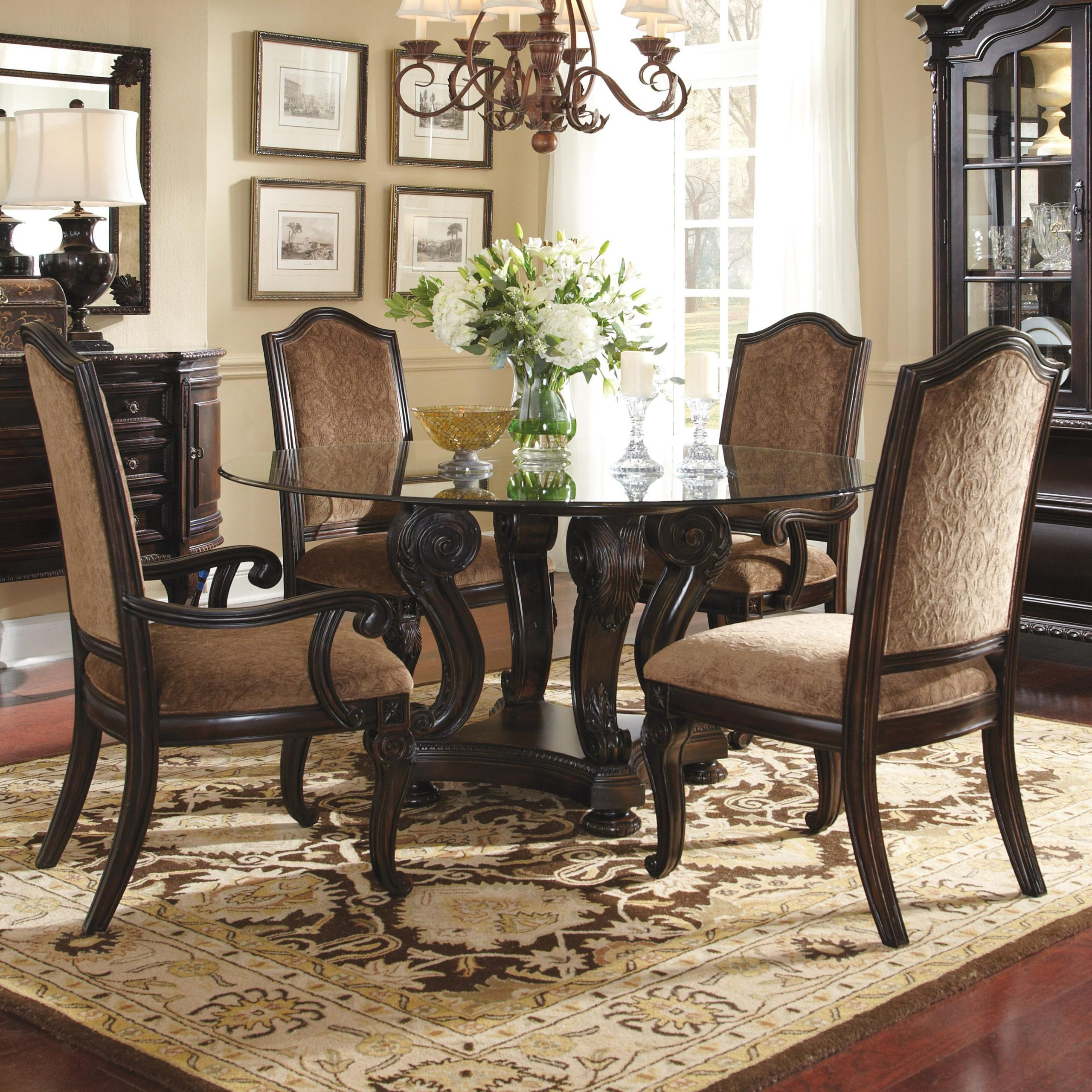 2019 Elegance Large Round Dining Tables throughout Round Dining Tables For 4 - Video And Photos