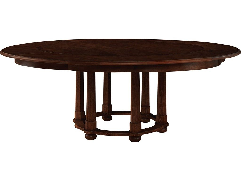 2019 Morris Round Dining Tables intended for Baker Furniture Living Room Michael S Smith Morris Round