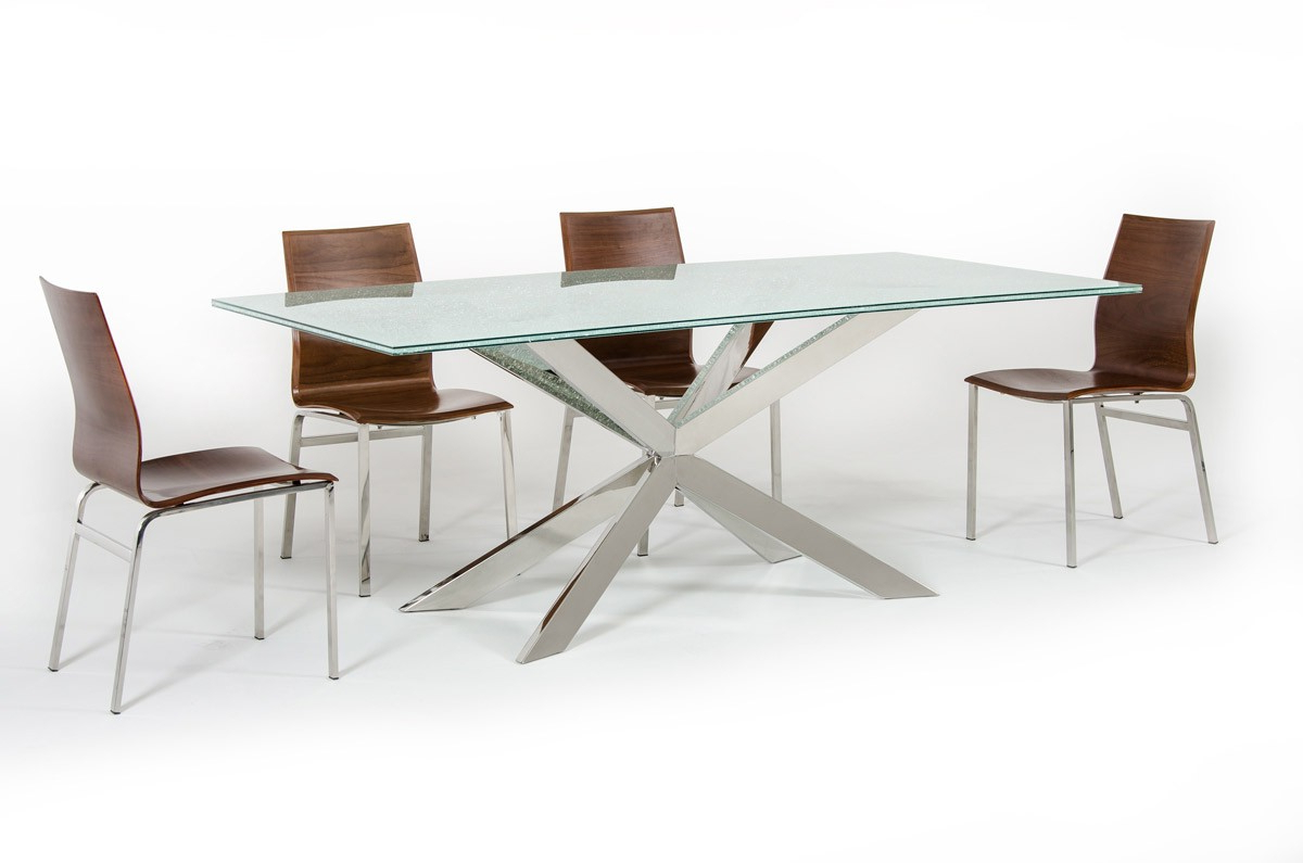 2019 Rectangular Glass Top Dining Tables Regarding Dining Table: The Top 6 Selection Tips – La Furniture Blog (View 16 of 25)