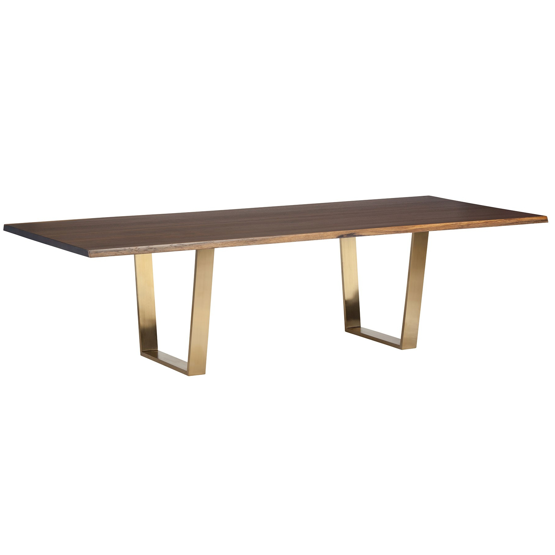 2019 Versailles Dining Table – Seared Oak / Gold For Dining Tables In Seared Oak (View 4 of 25)