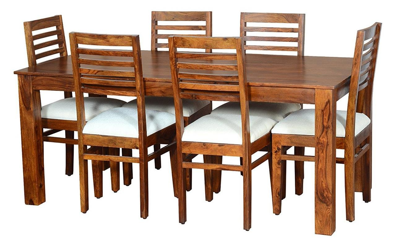 2020 6 Seater Retangular Wood Contemporary Dining Tables With Jiya Creation Modern Style 6 Seater Rectangular Foldable (View 2 of 25)