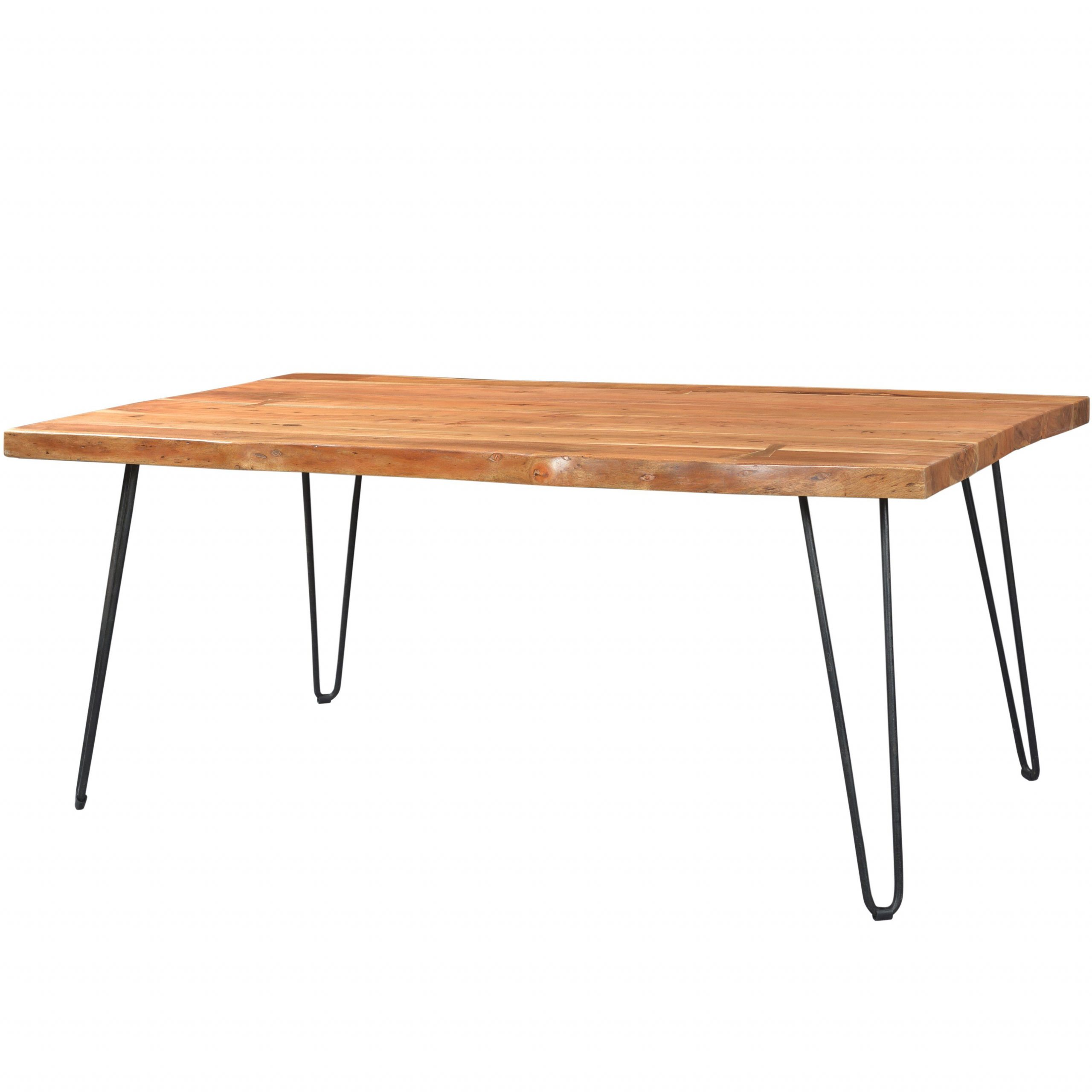 2020 Acacia Dining Tables With Black X Legs Throughout 71 X 40Handmade Wanderloot Mojave Sustainable Live Edge (View 3 of 25)