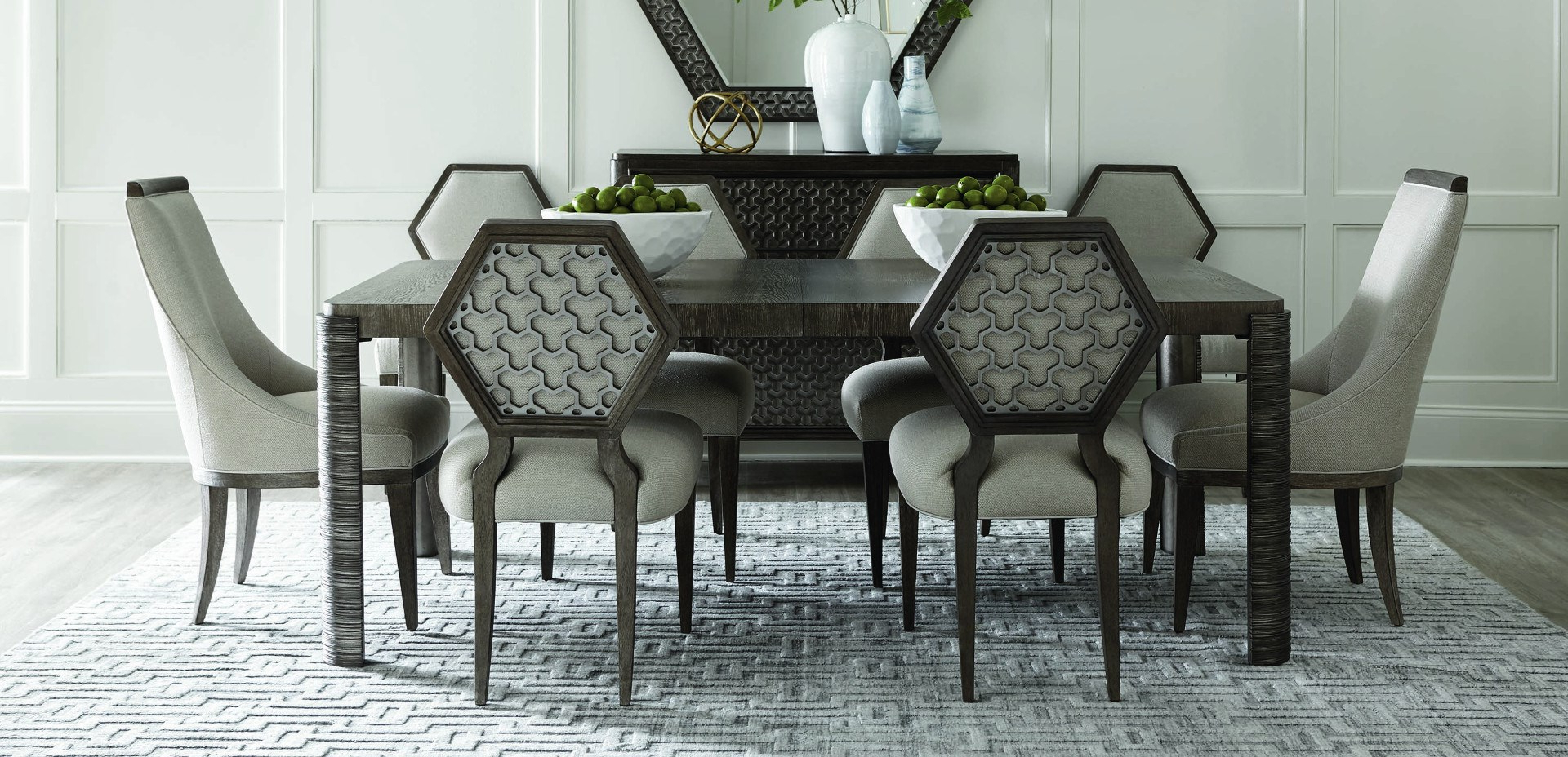 2020 Transitional 6 Seating Casual Dining Tables Regarding Florida's Premier Dining Room Furniture Store – Baer's (View 16 of 25)