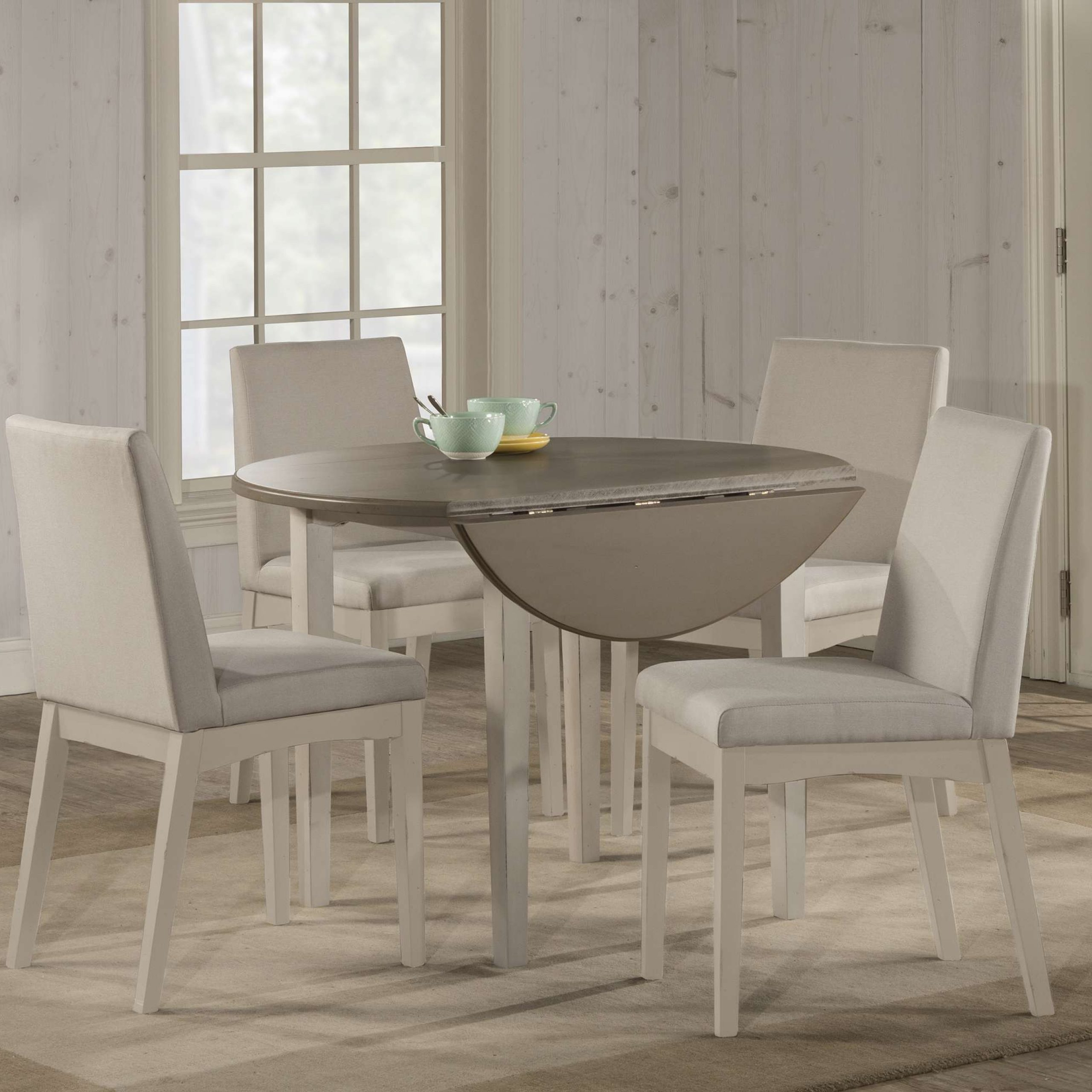2020 Transitional Drop Leaf Casual Dining Tables Intended For Hillsdale 4542 (View 19 of 25)