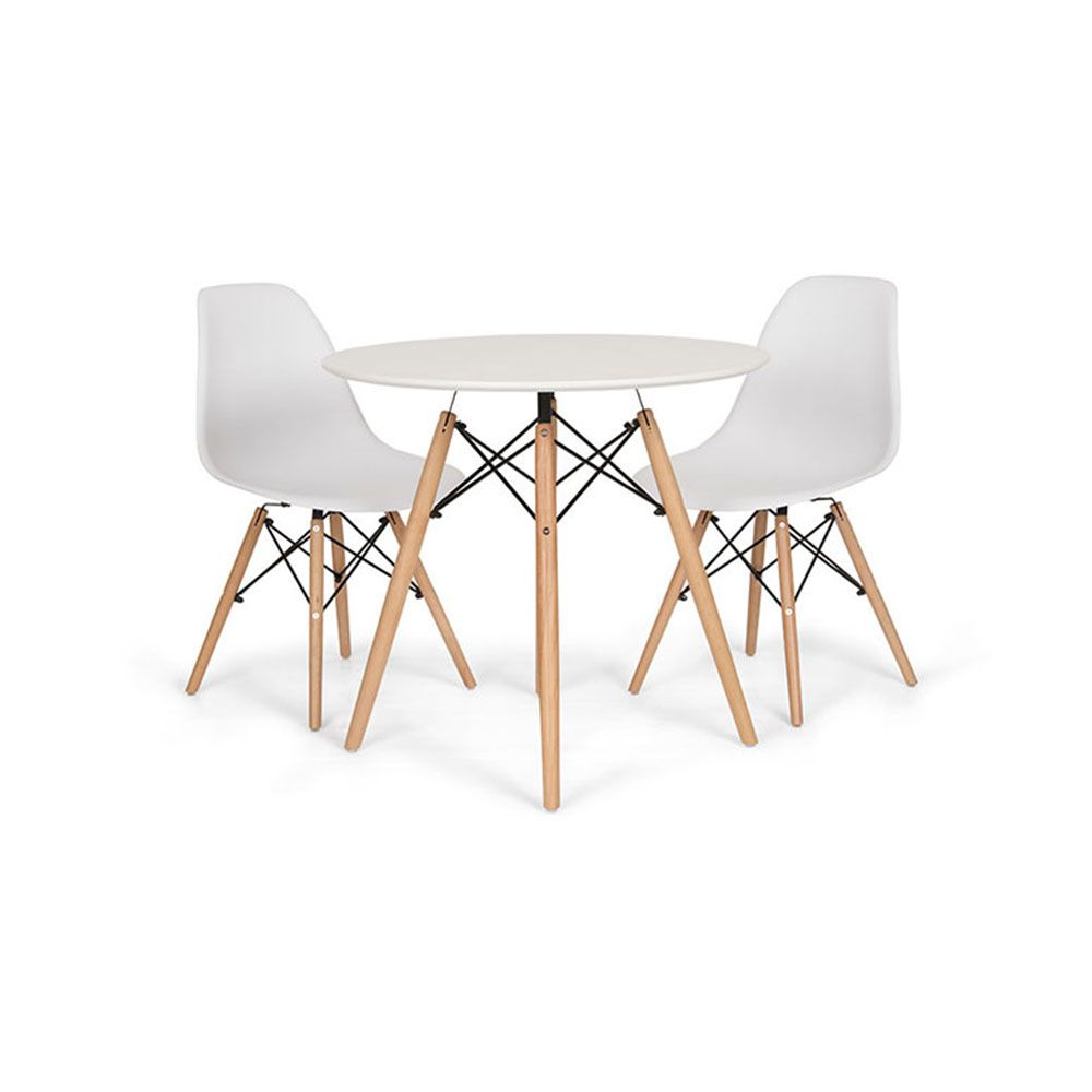 3 Pieces Dining Tables And Chair Set inside Well known Target Furniture Nz