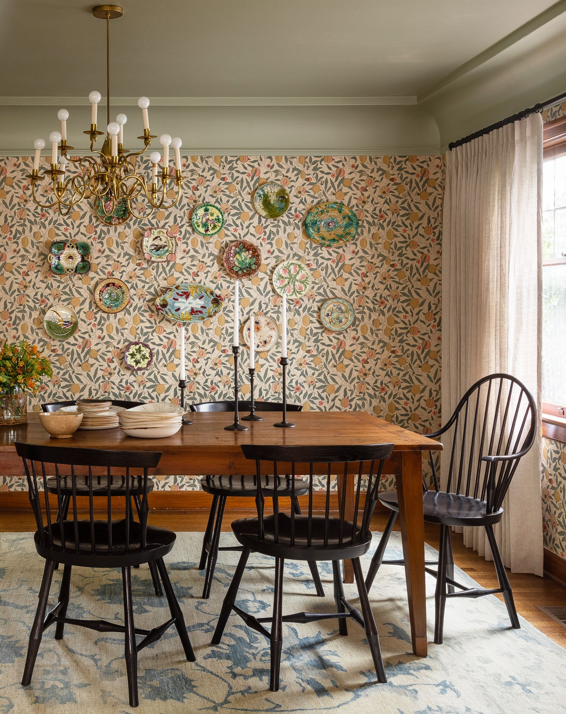 55 Best Dining Room Decorating Ideas, Furniture, Designs intended for Well-liked Morris Round Dining Tables