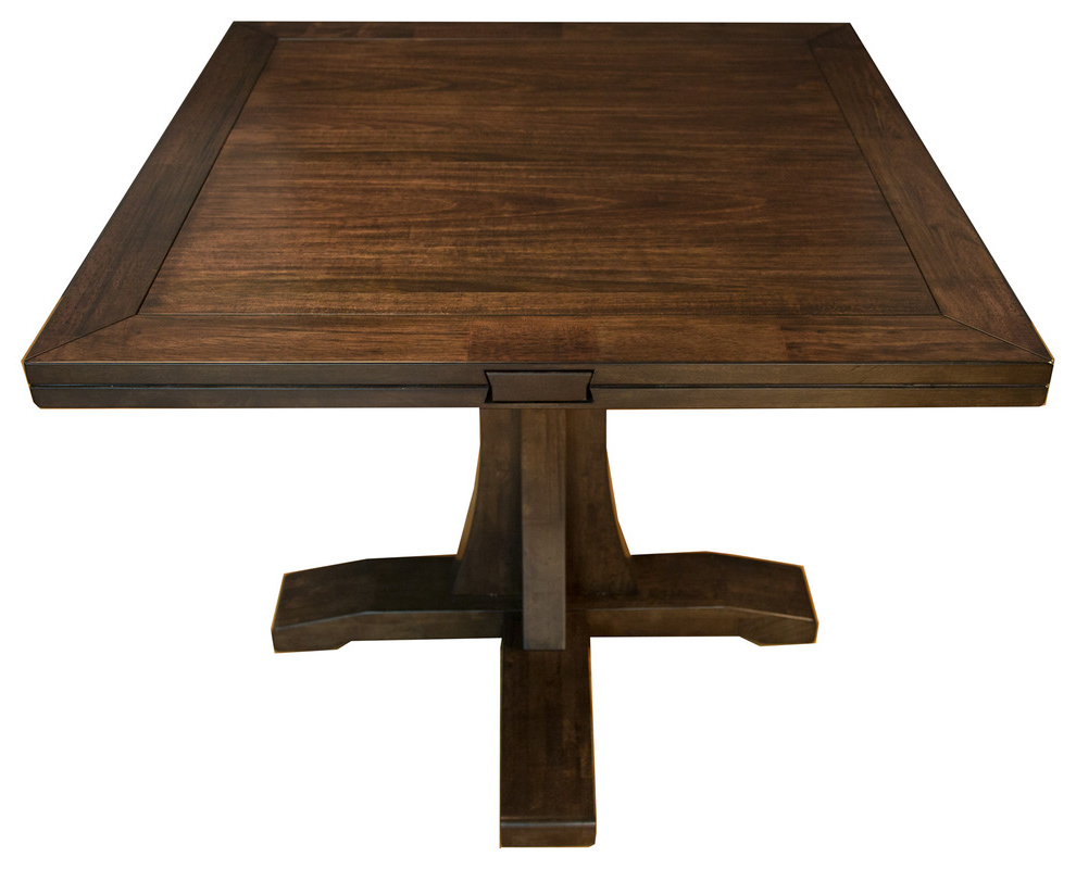 A America Brooklyn Heights Drop Leaf Table For 2020 Alamo Transitional 4 Seating Double Drop Leaf Round Casual Dining Tables (View 2 of 26)