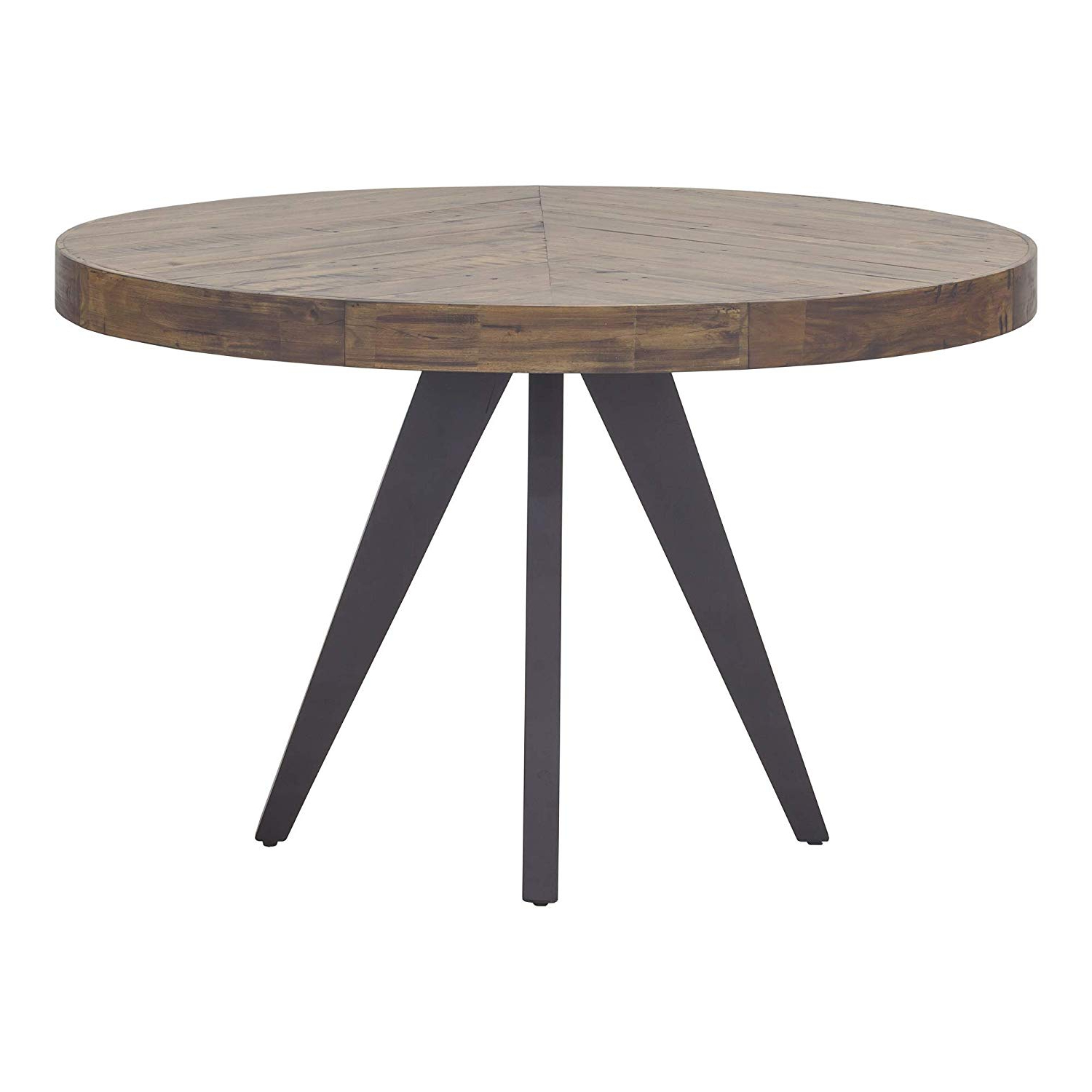 Acacia Dining Tables With Black Legs Pertaining To Trendy Amazon – Moe's Home Collection Parq Dining Table, Acacia (View 25 of 25)