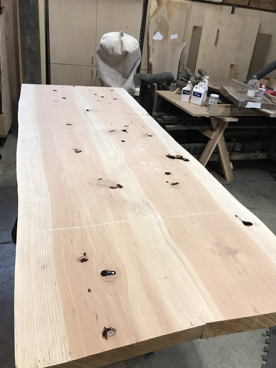 Acacia Dining Tables With Black Victor Legs Inside Most Recently Released Liveedgefurniture Hashtag On Twitter (View 22 of 25)