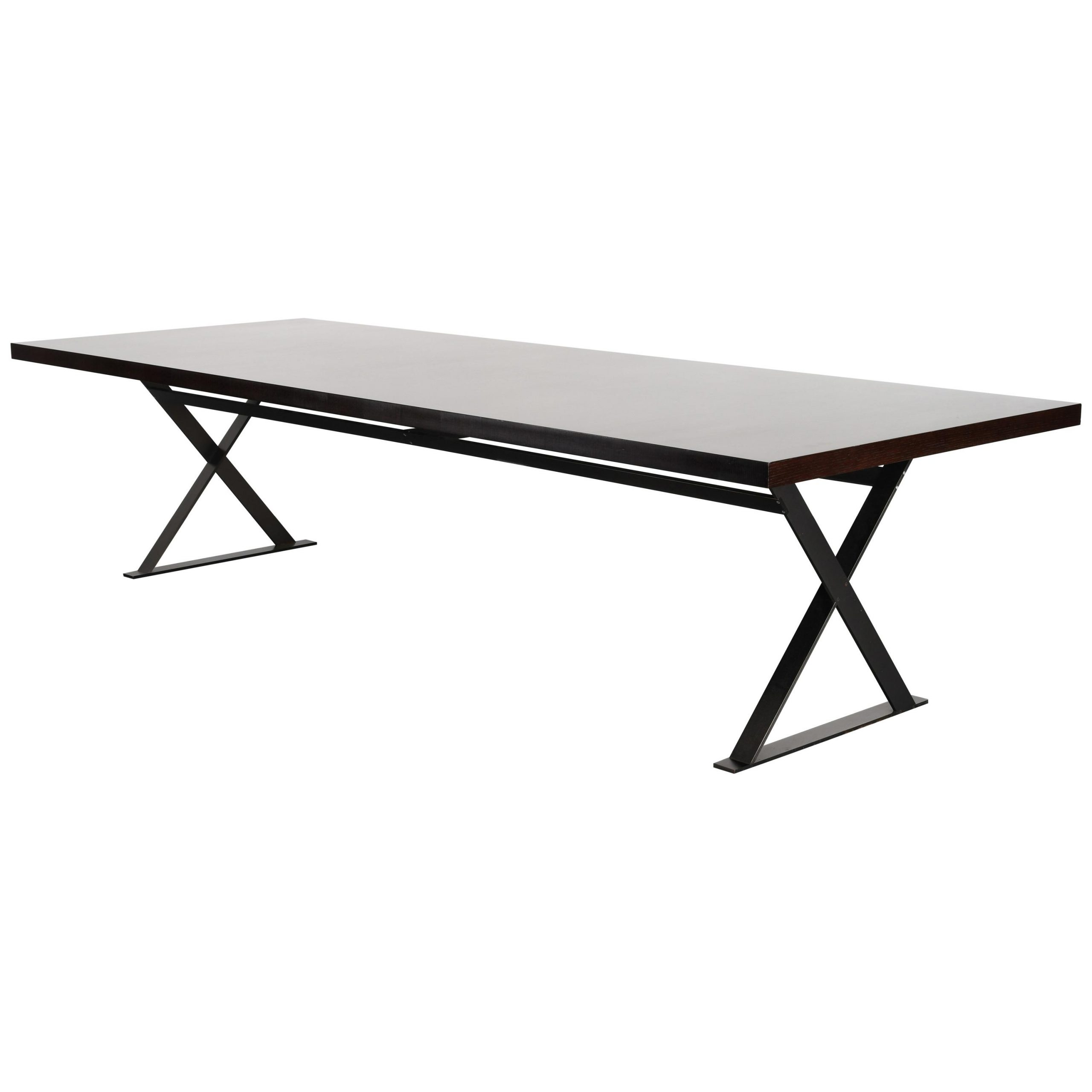 Acacia Dining Tables With Black Victor Legs With Most Up To Date Early 2000S Dining Room Tables – 72 For Sale At 1Stdibs (View 23 of 25)