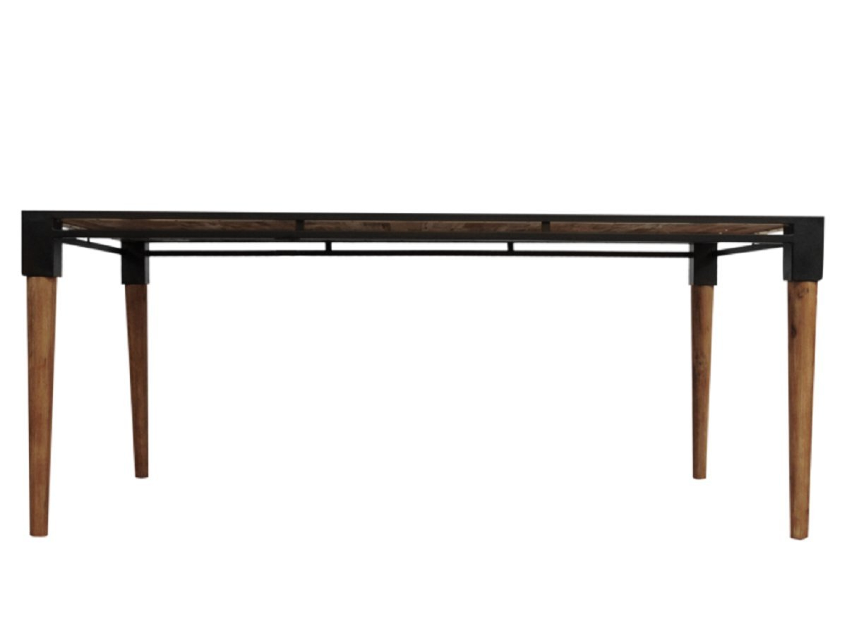 Acacia Wood Medley Medium Dining Tables With Metal Base Regarding Recent Amazon – Cdi Furniture Td1282M The Medley Collection (View 3 of 26)