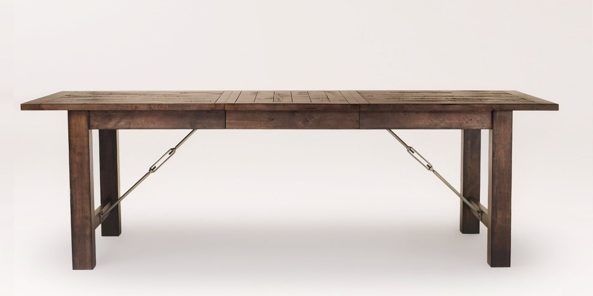 Acacia Wood Top Dining Tables With Iron Legs On Raw Metal With Current 10 Best Rustic Dining Tables In 2018 – Wood Dining Room (View 2 of 25)