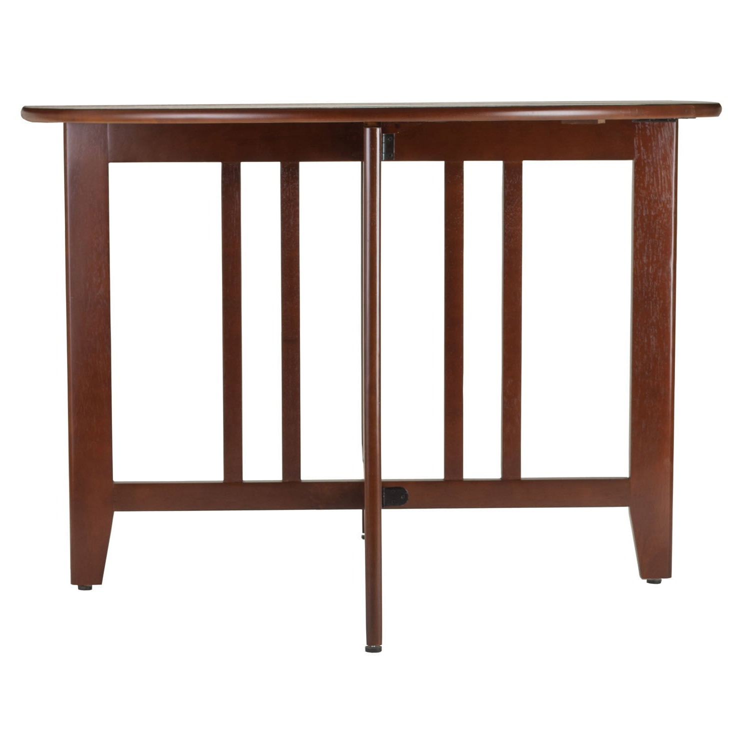 """Alamo Transitional 4 Seating Double Drop Leaf Round Casual Dining Tables In Well Known Alamo Double Drop Leaf Round 42"""" Table Mission – N/a (View 3 of 26)"""